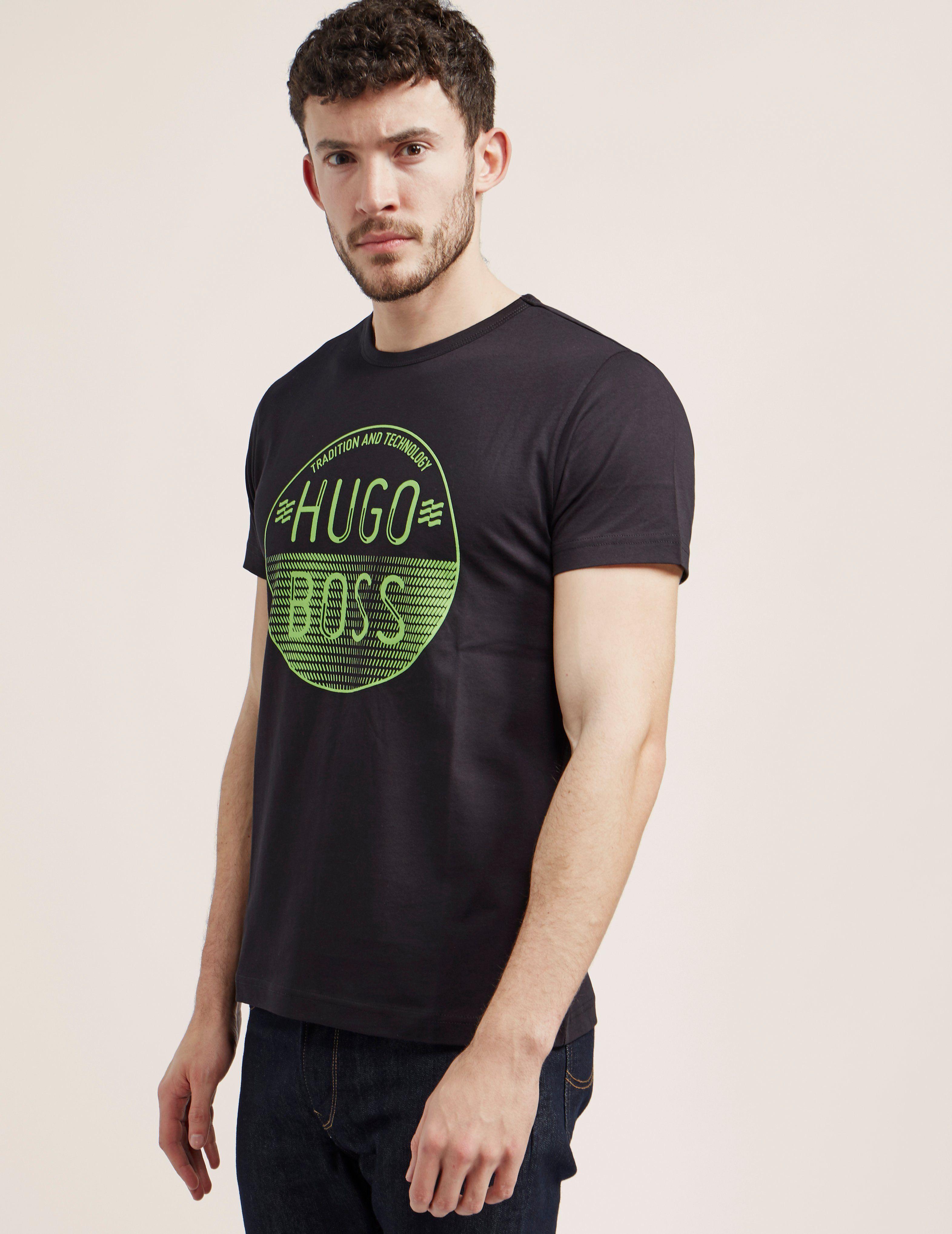 BOSS Green Tee 1 Short Sleeve T-Shirt