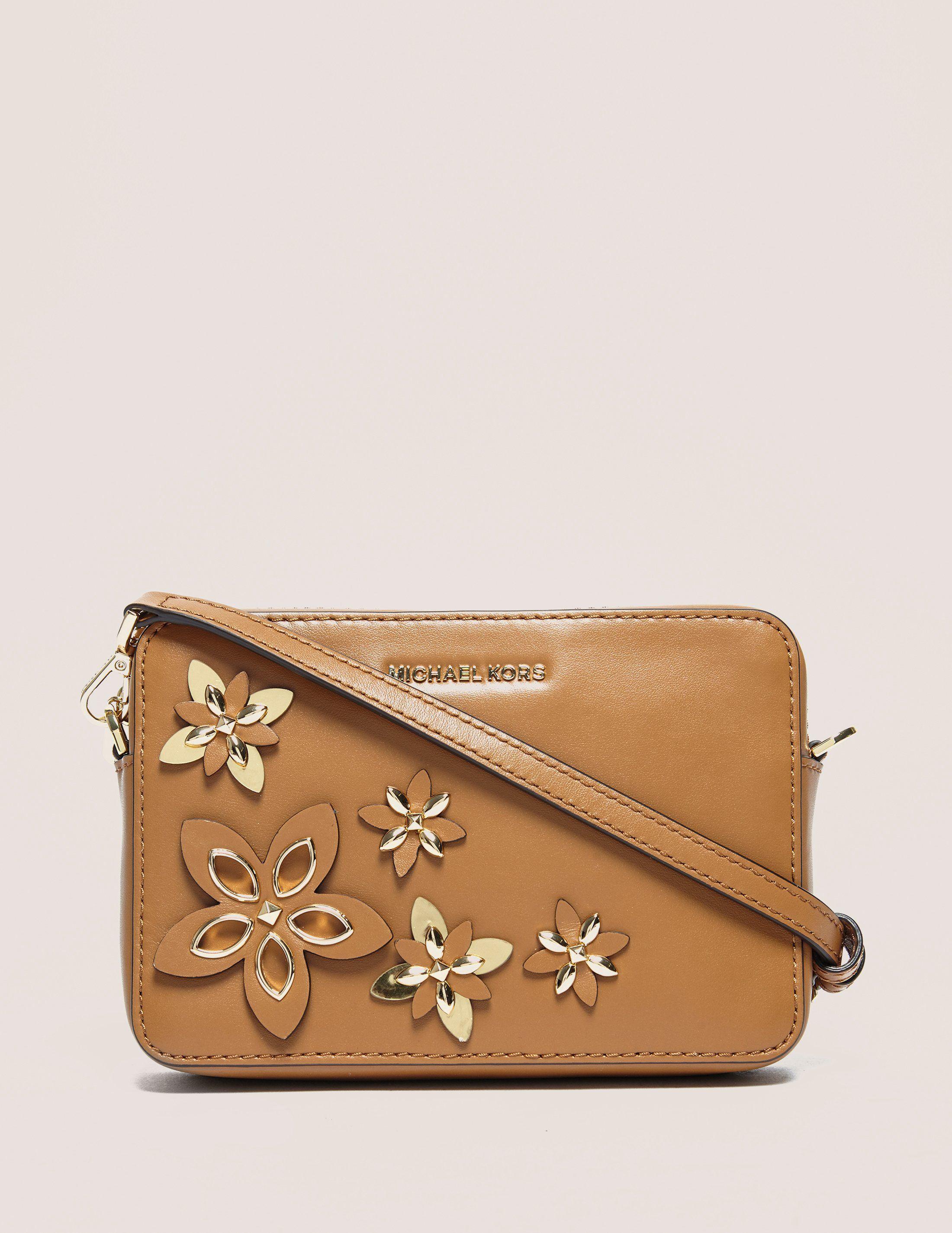Michael Kors Flowers Medium Camera Bag
