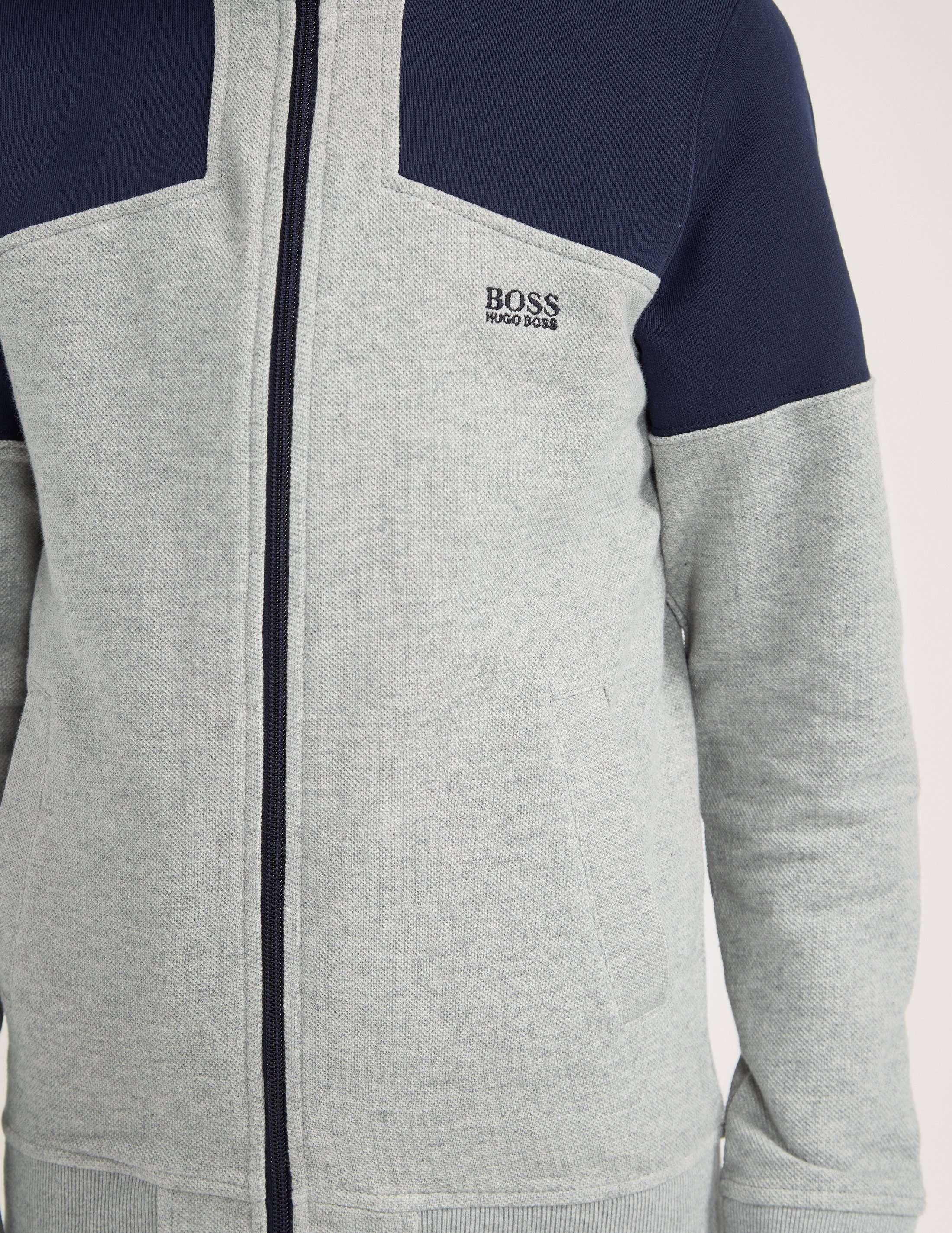 BOSS Full Zip Panel Hoody