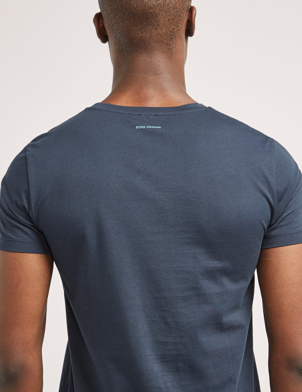 BOSS Orange Logo Short Sleeve T-Shirt