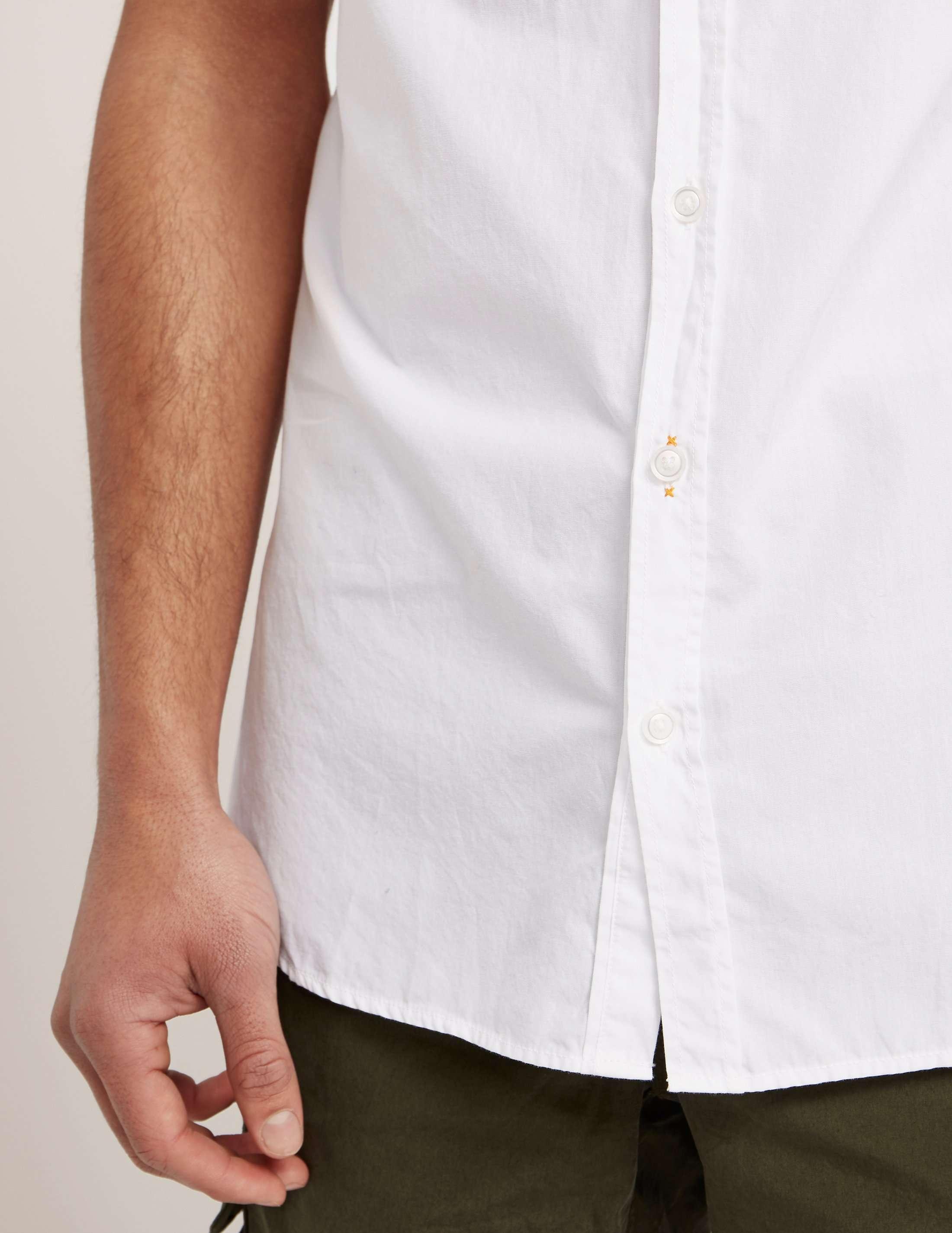BOSS Orange Poplin Shirt