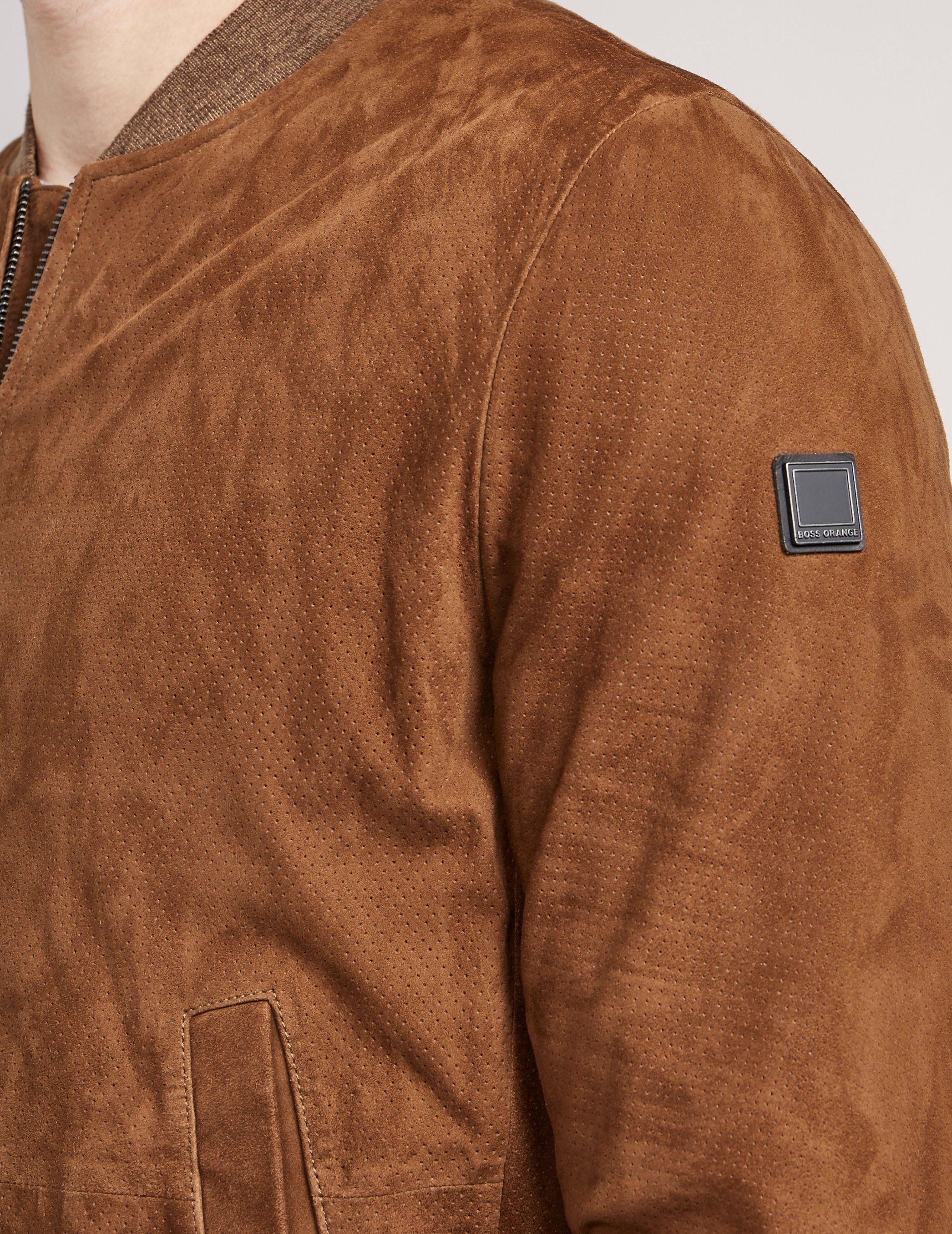 BOSS Orange Padded Bomber Jacket