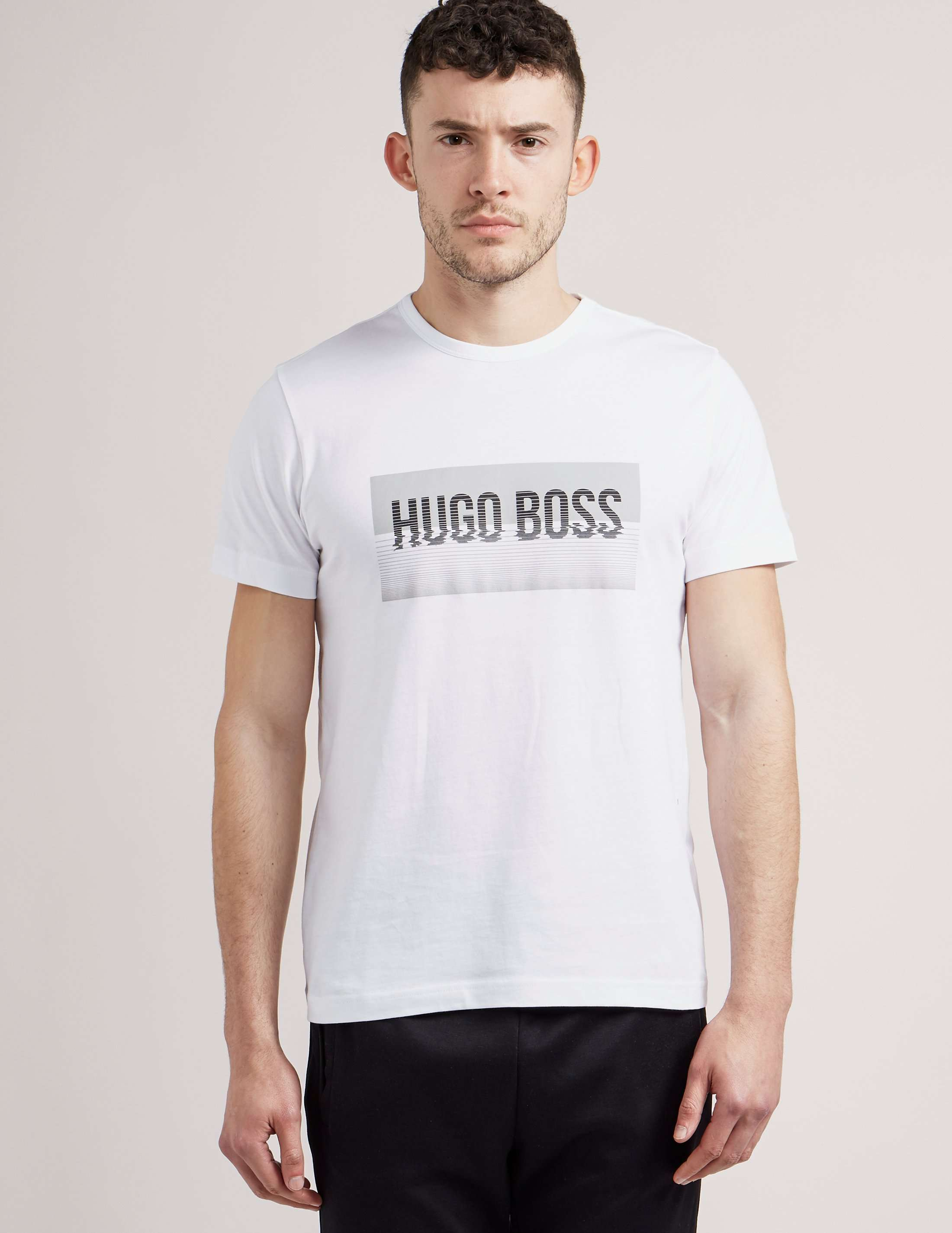 BOSS Green Box Logo Short Sleeve T-Shirt