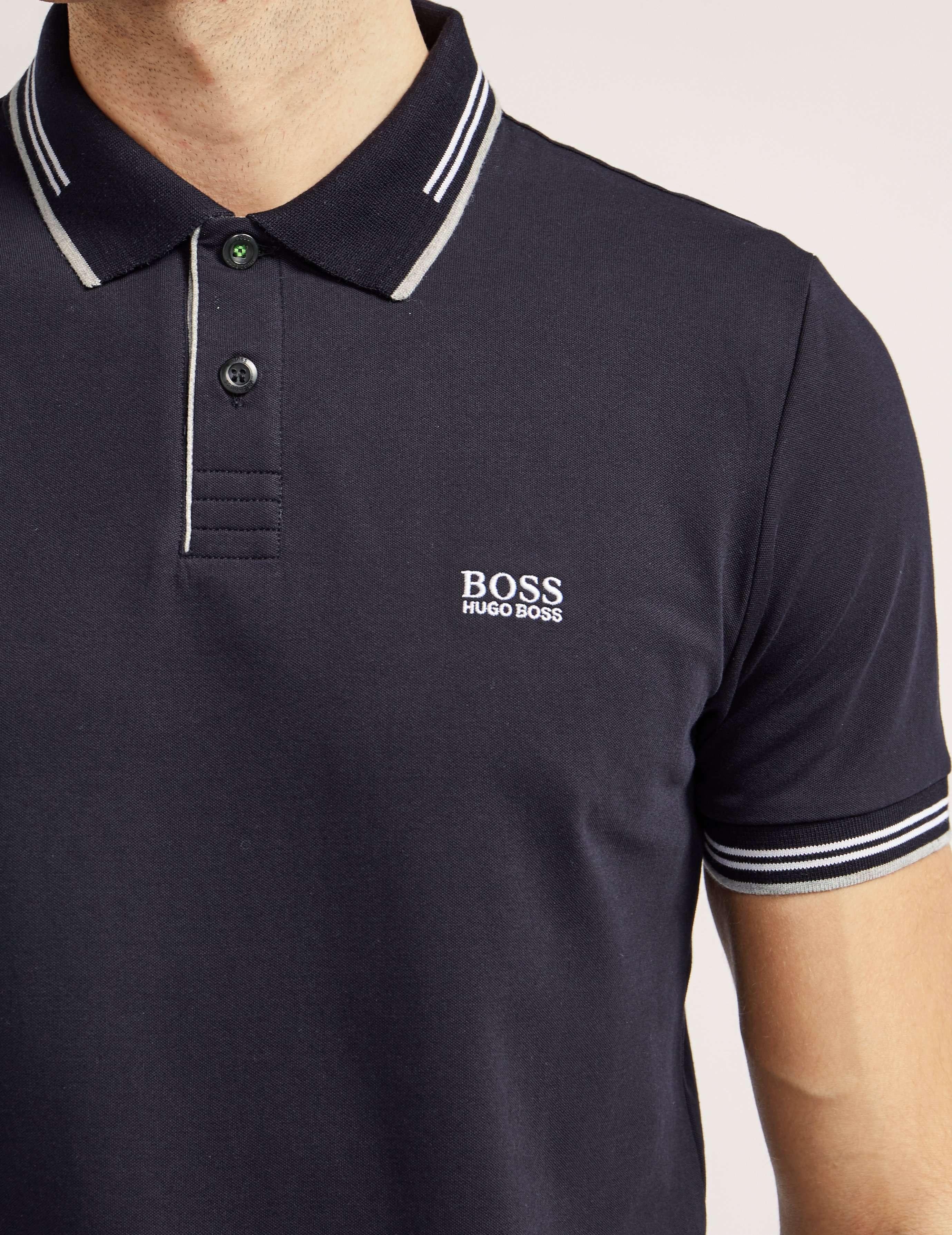 BOSS Green Tipped Polo Shirt