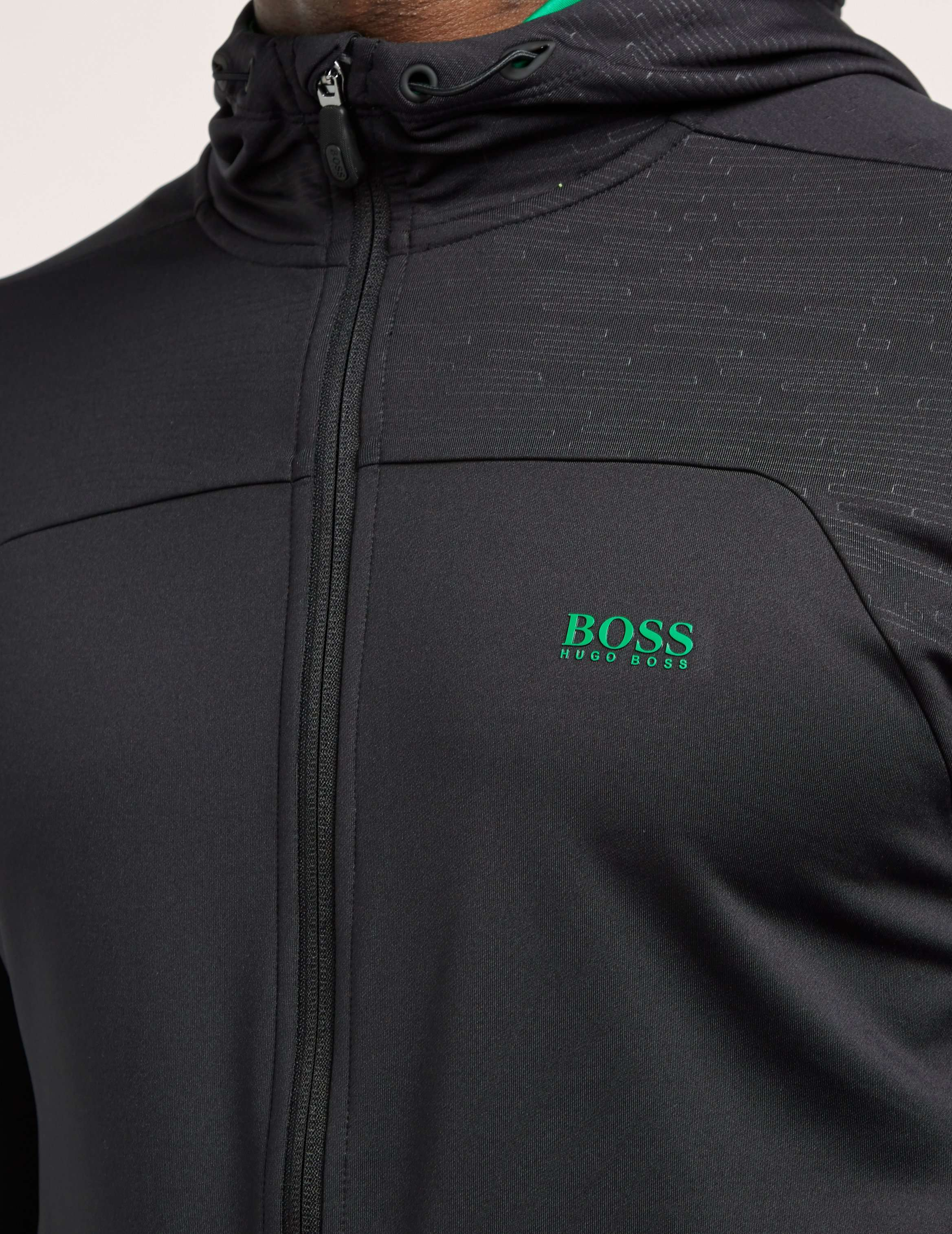 BOSS Green Saggy Zip Up Hoody