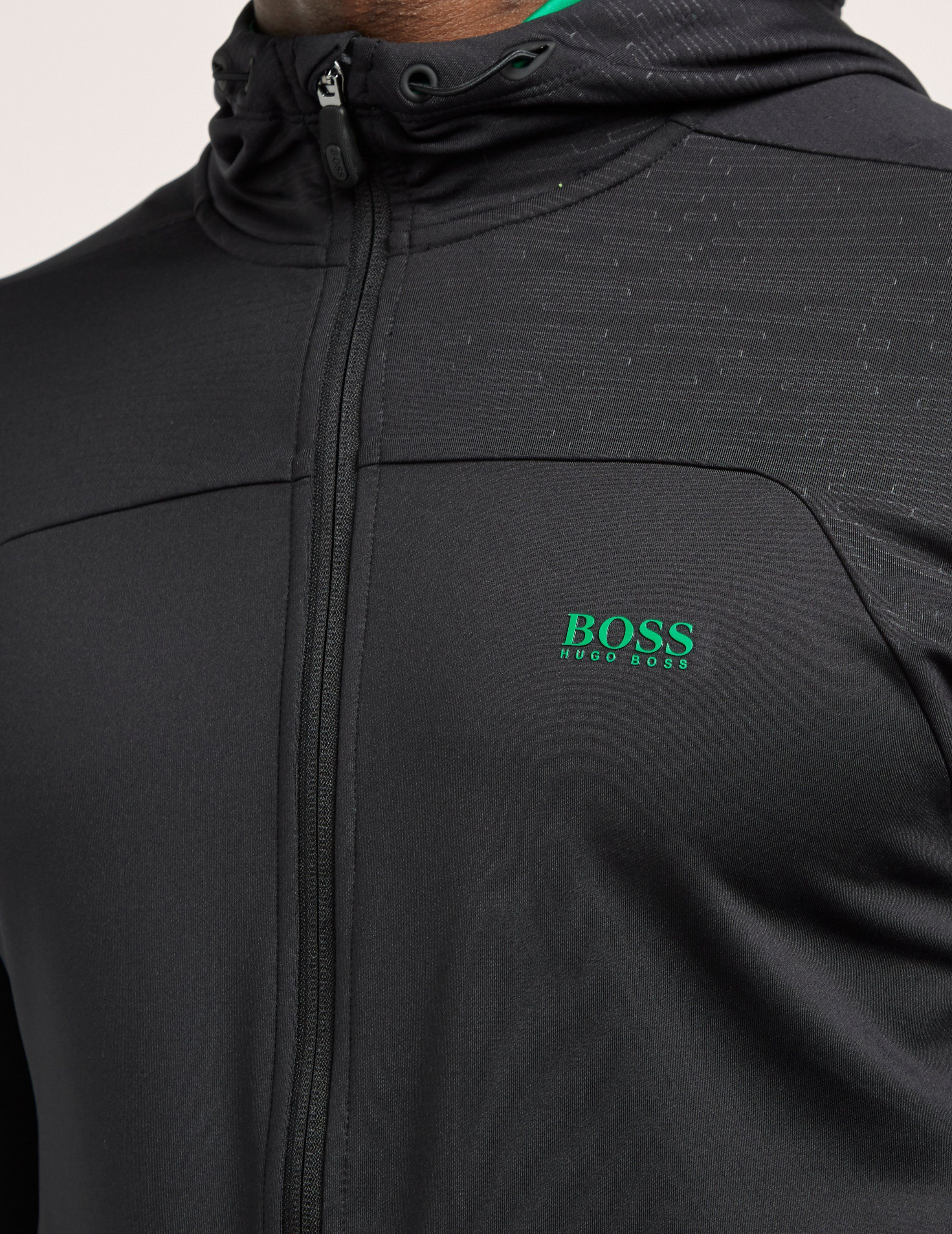 BOSS Green Saggy Zip Up Hoody