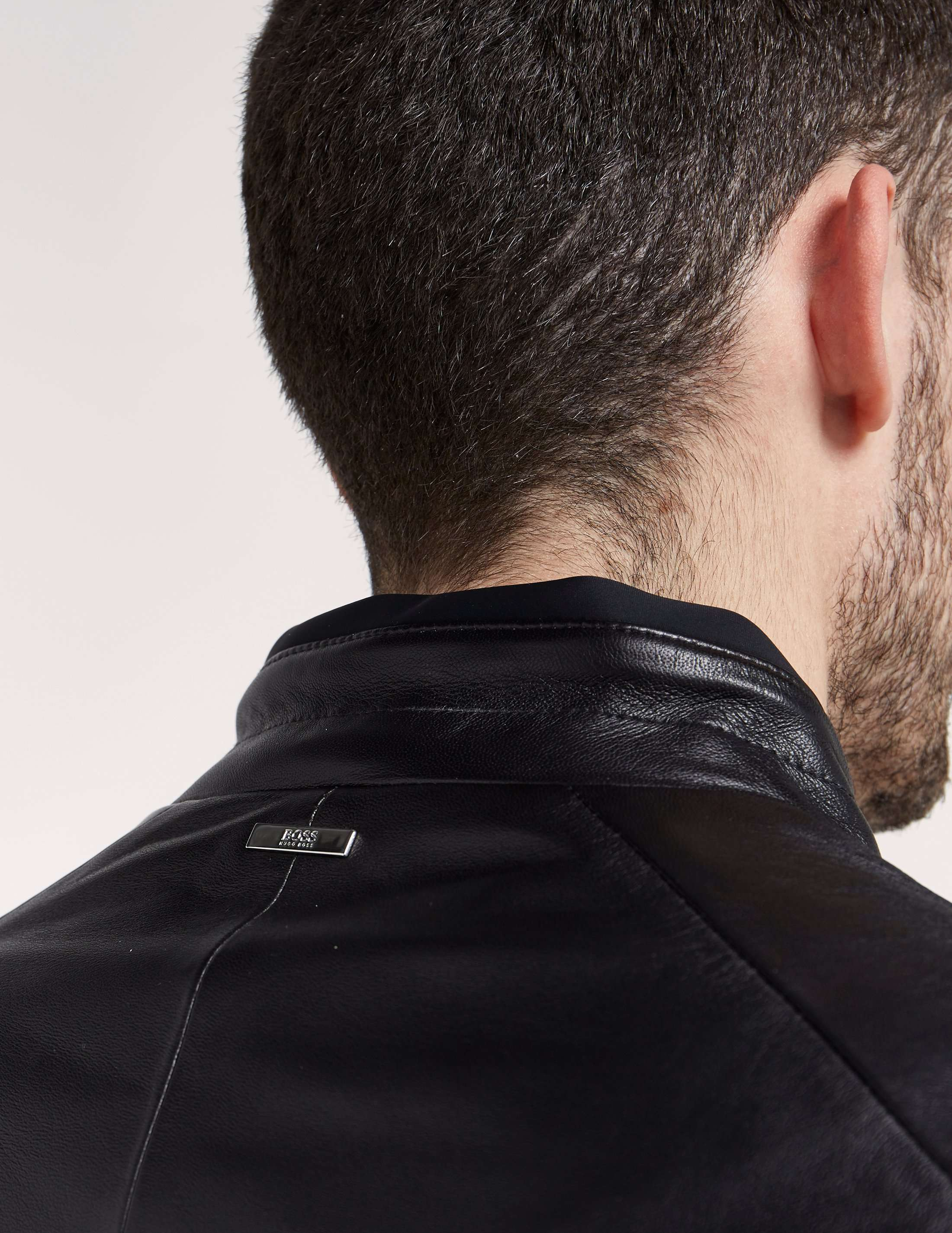 BOSS Nartimo Leather Jacket