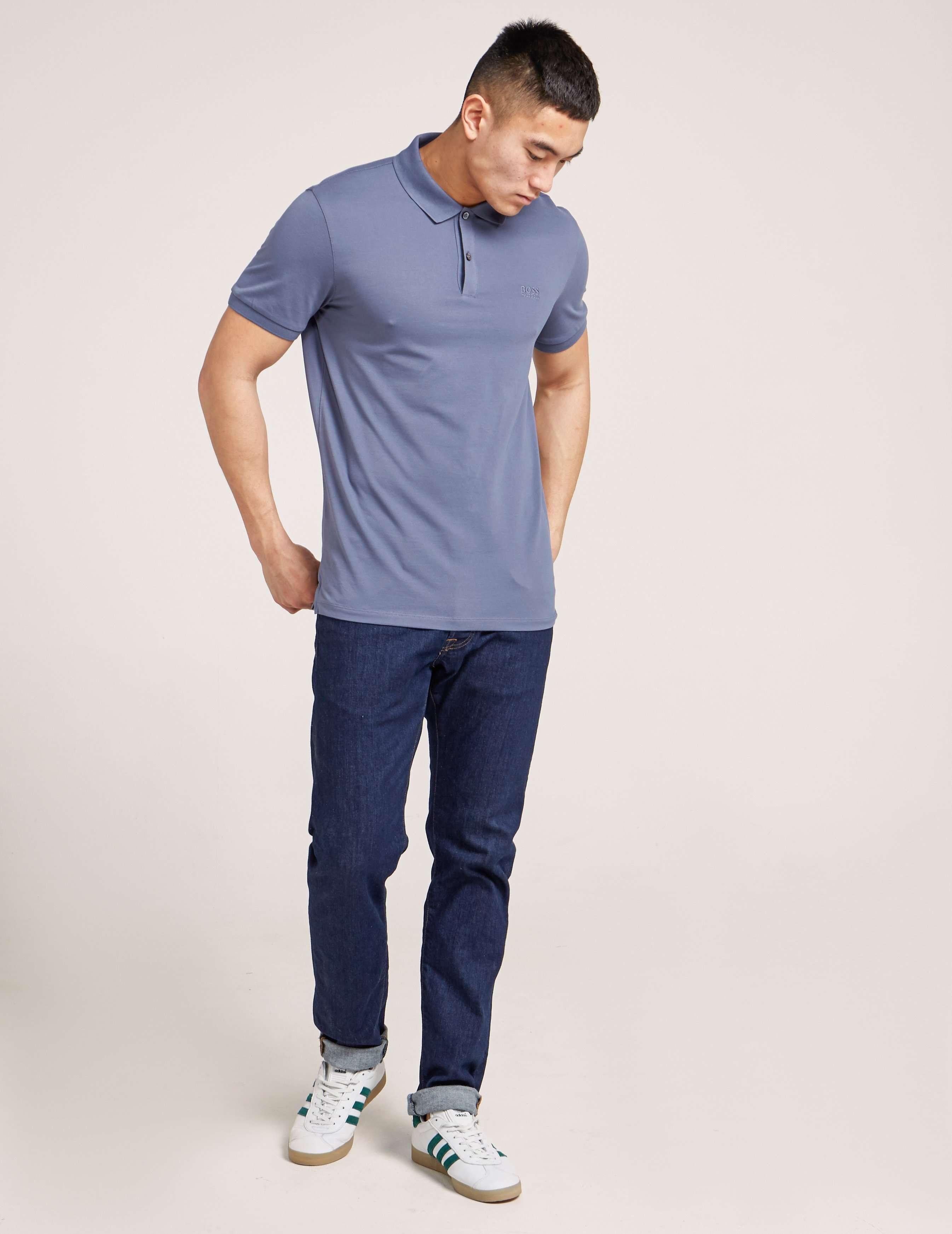 BOSS Basic Short Sleeve Polo Shirt