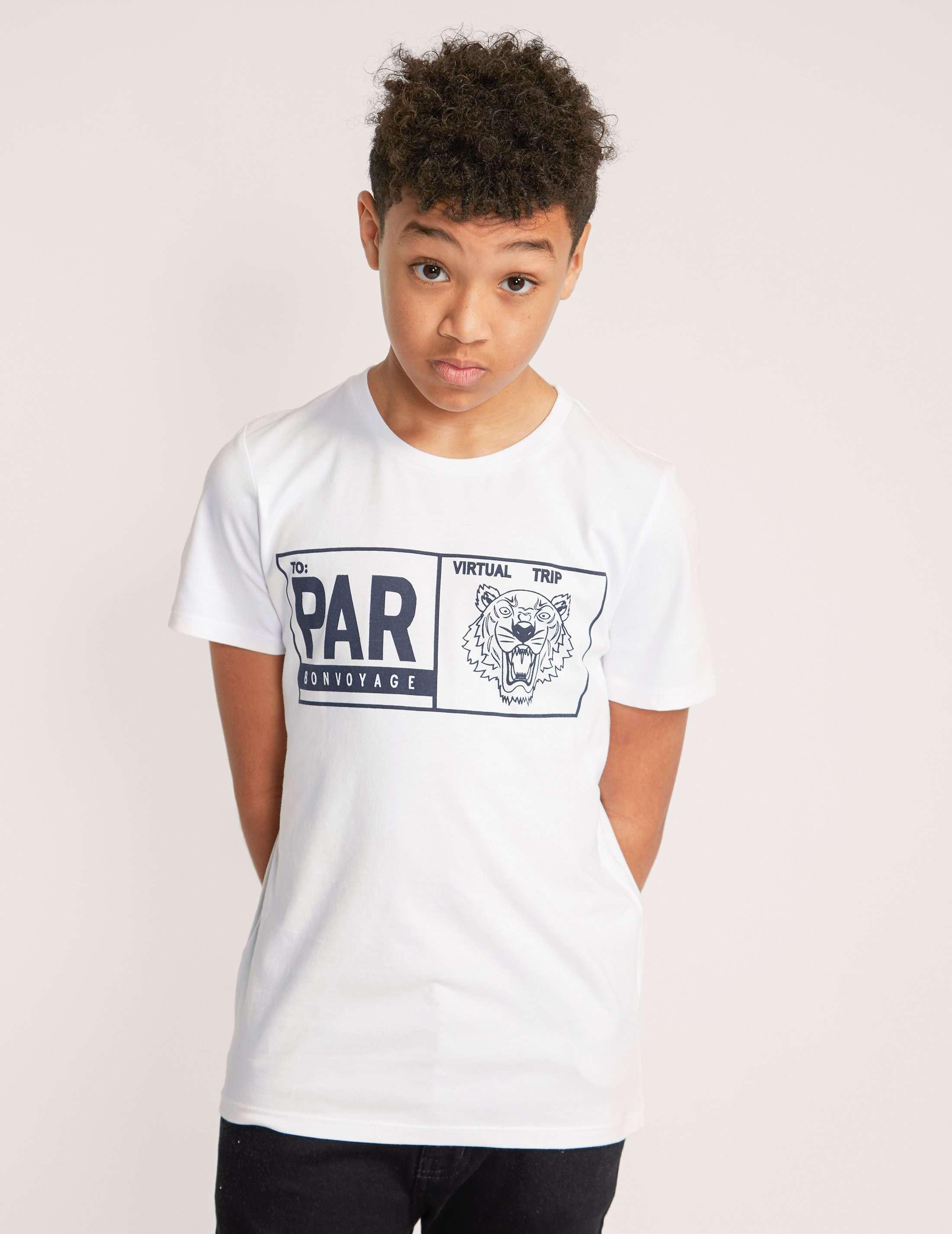 KENZO Short Sleeve Tiger Box T-Shirt