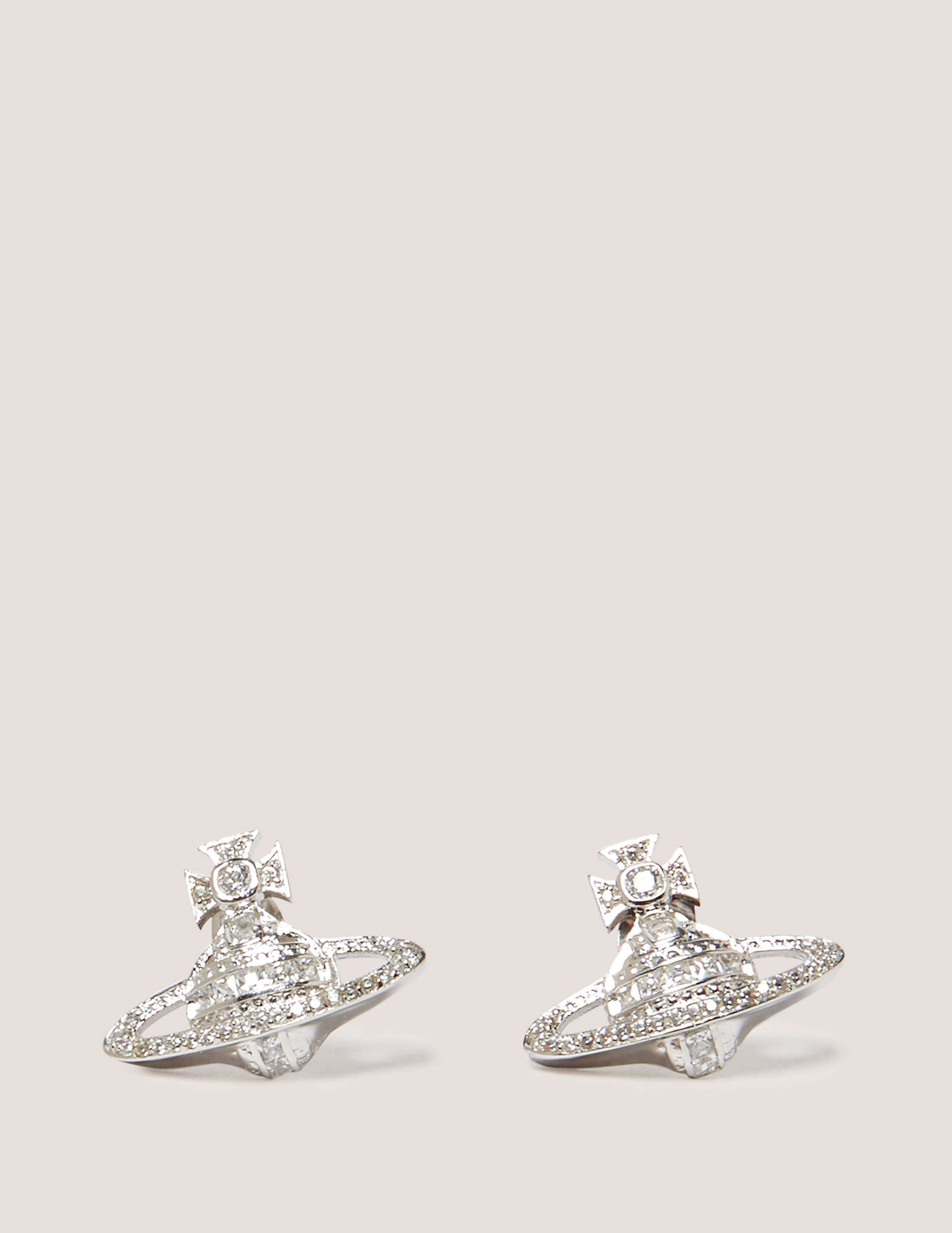 Vivienne Westwood Andrea Stud Earrings