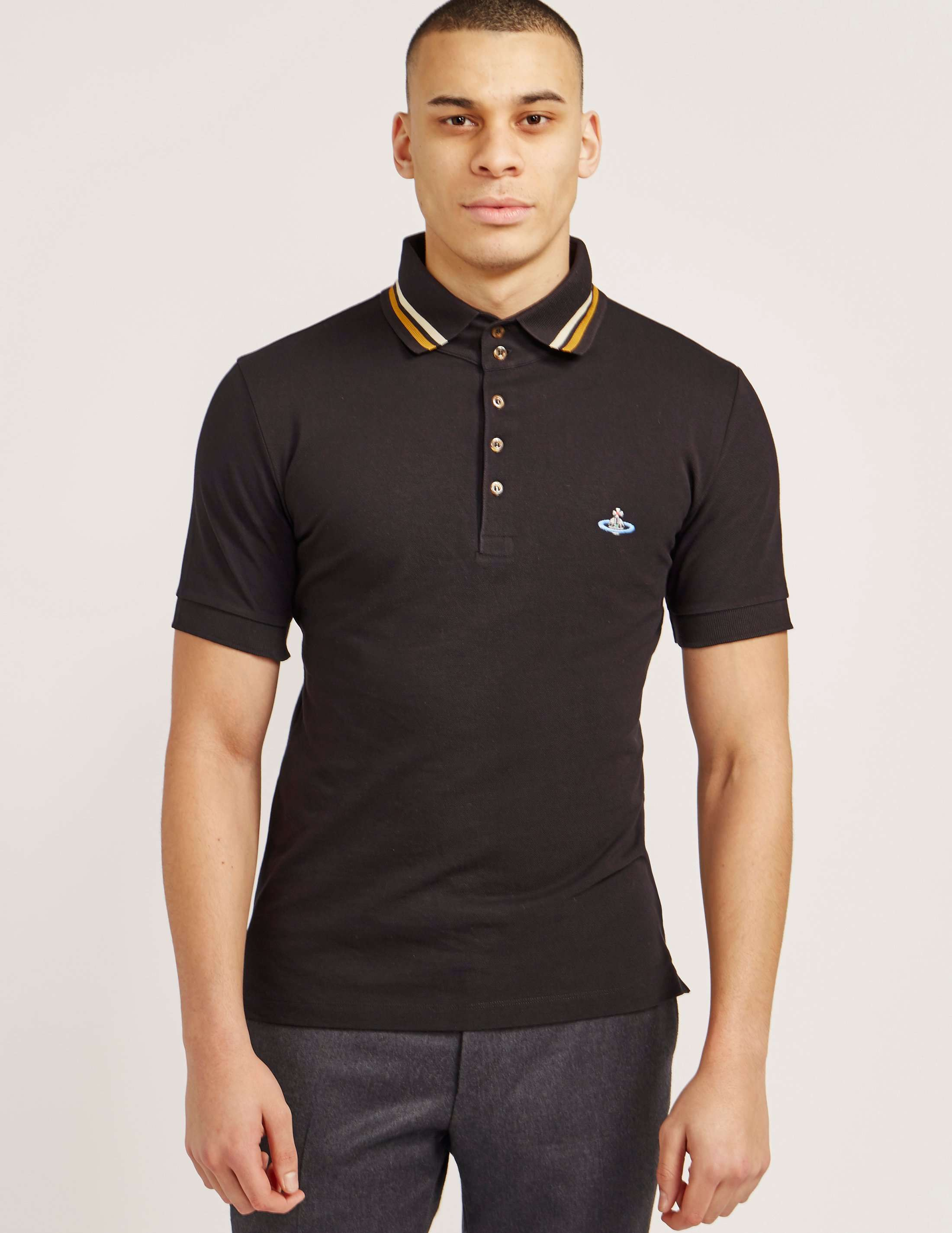 Vivienne Westwood Classic Short Sleeve Polo Shirt