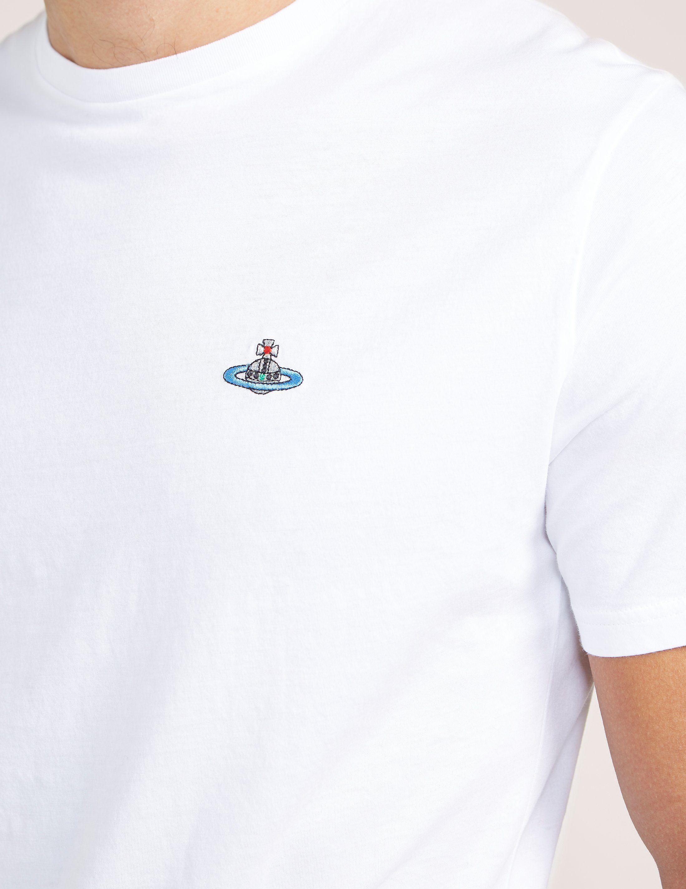 Vivienne Westwood Chest Orb Short Sleeve T-Shirt