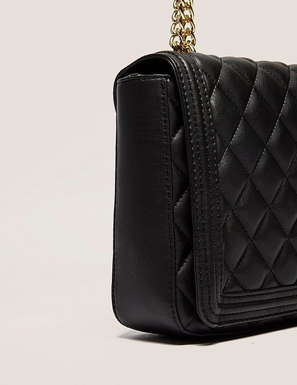Love Moschino Quilted Shoulder Bag | Tessuti : moschino quilted shoulder bag - Adamdwight.com