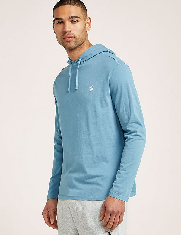 Polo Ralph Lauren Long Sleeve Hooded T-Shirt | Tessuti