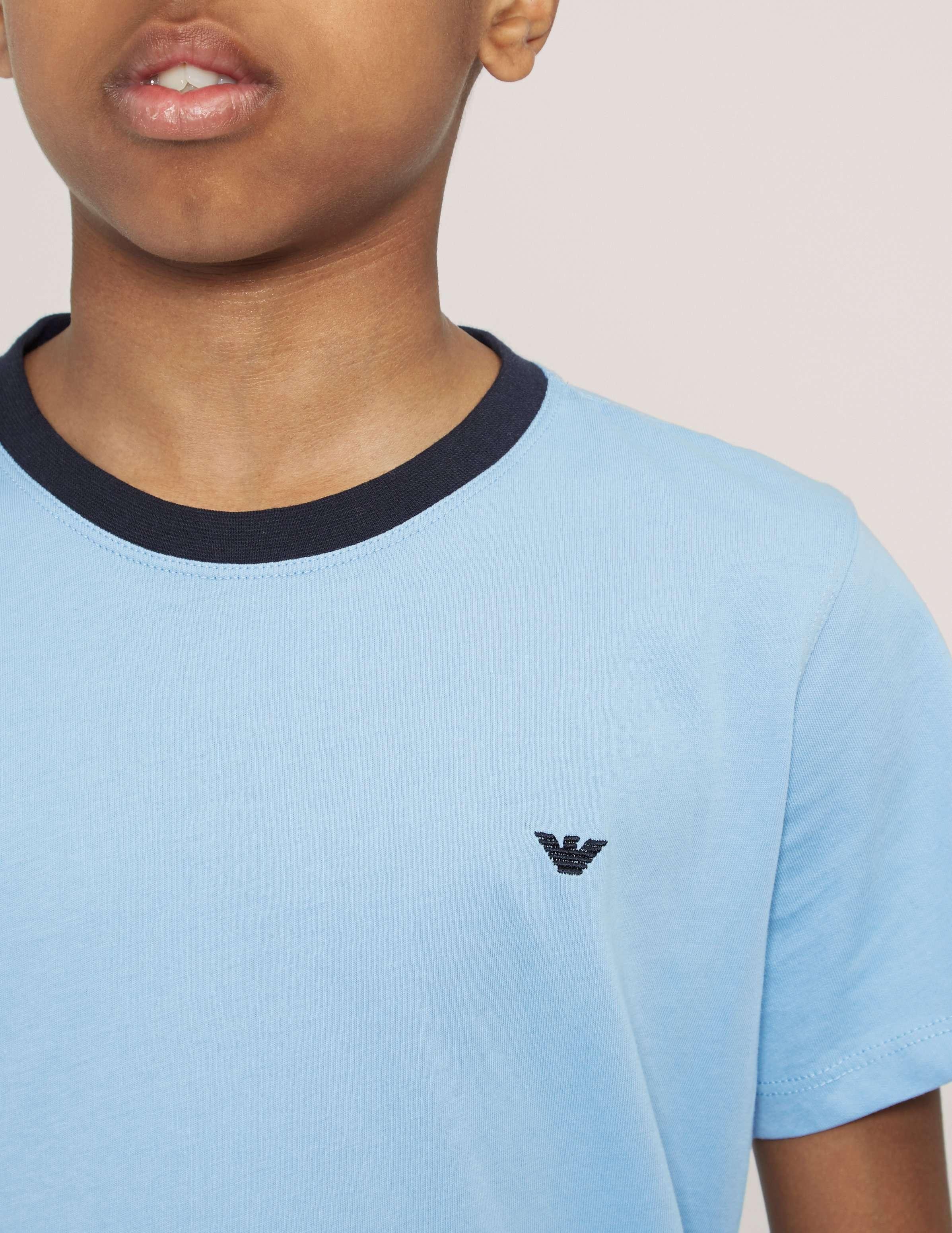 Armani Jeans Crew Short Sleeve T-Shirt