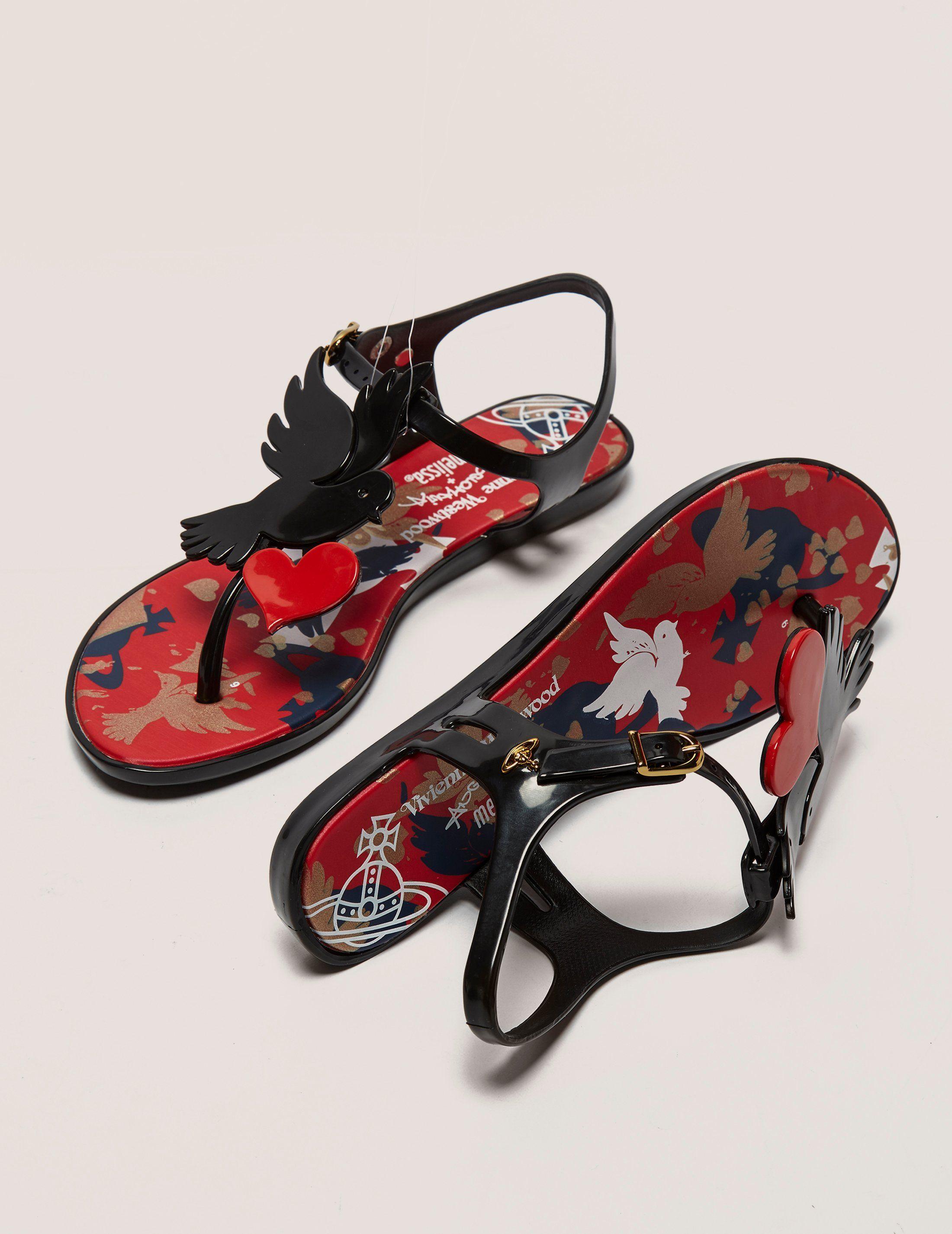 Melissa Solar Dove Sandals