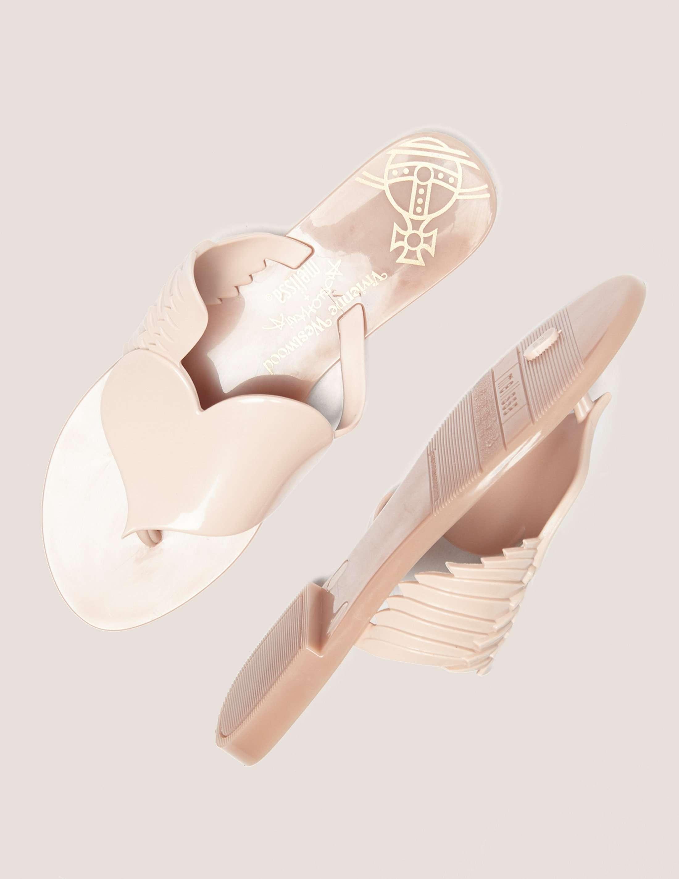 Melissa Cherub Flip Flop