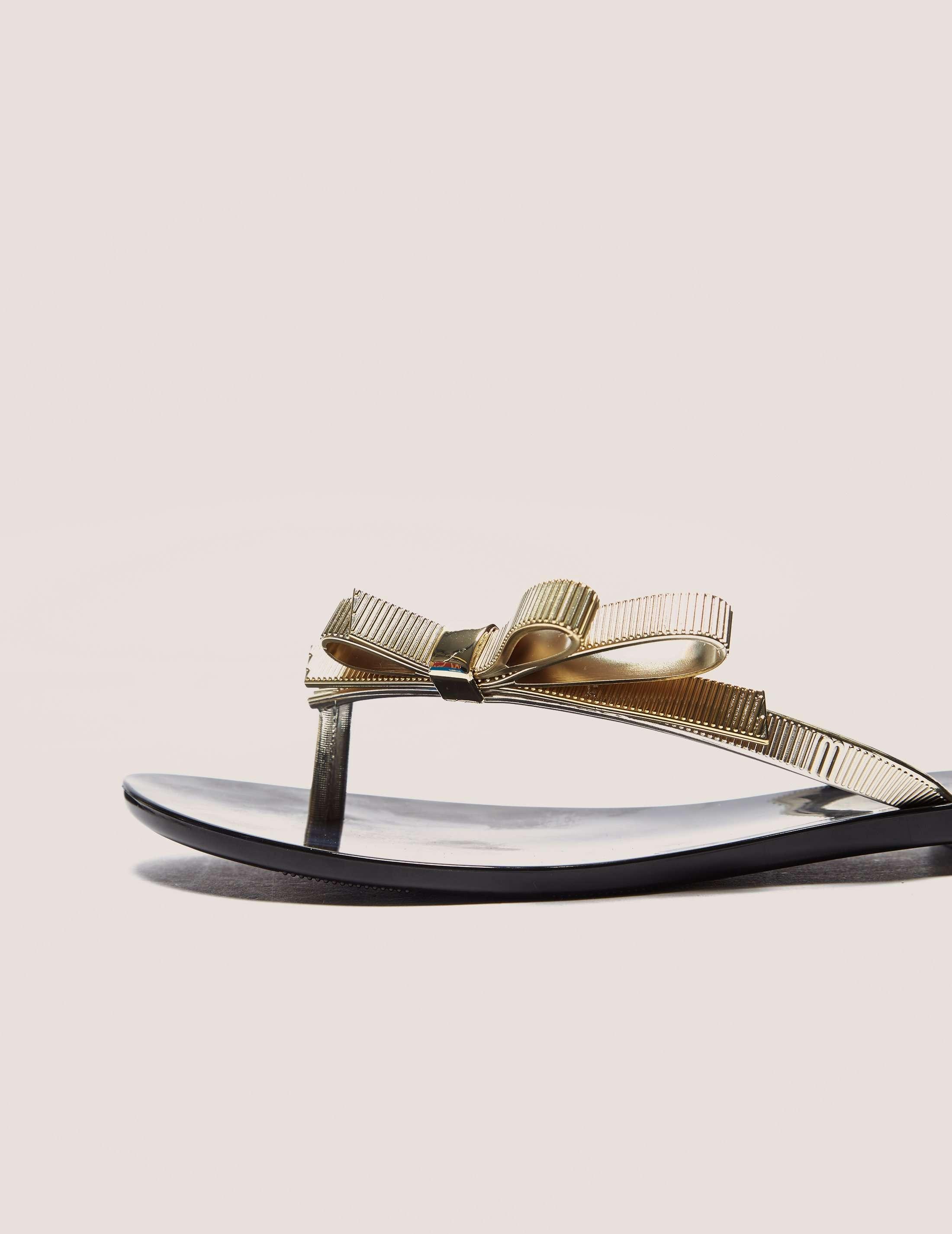 Melissa Chrome Flip Flops