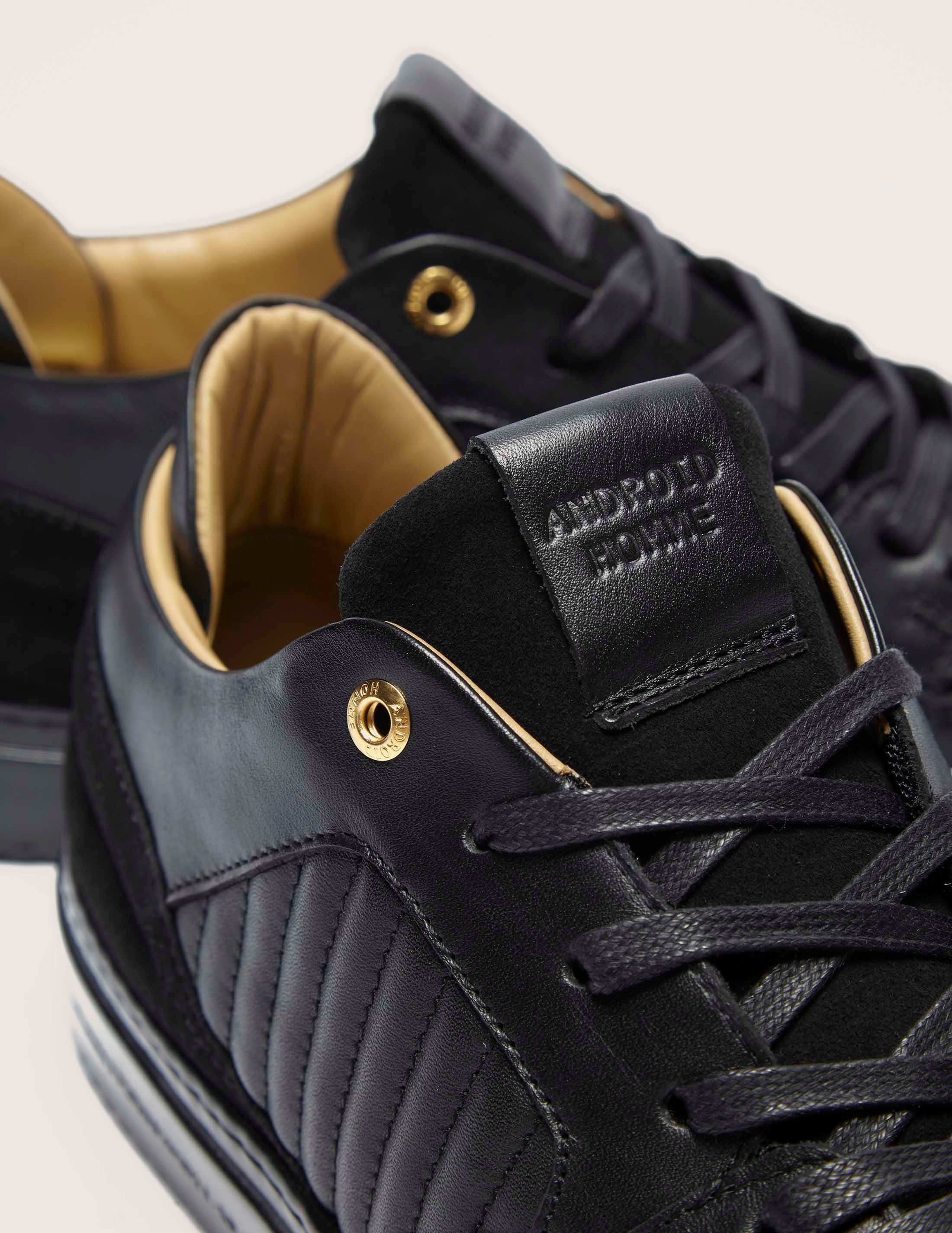 Android Homme Omega Leather Trainers