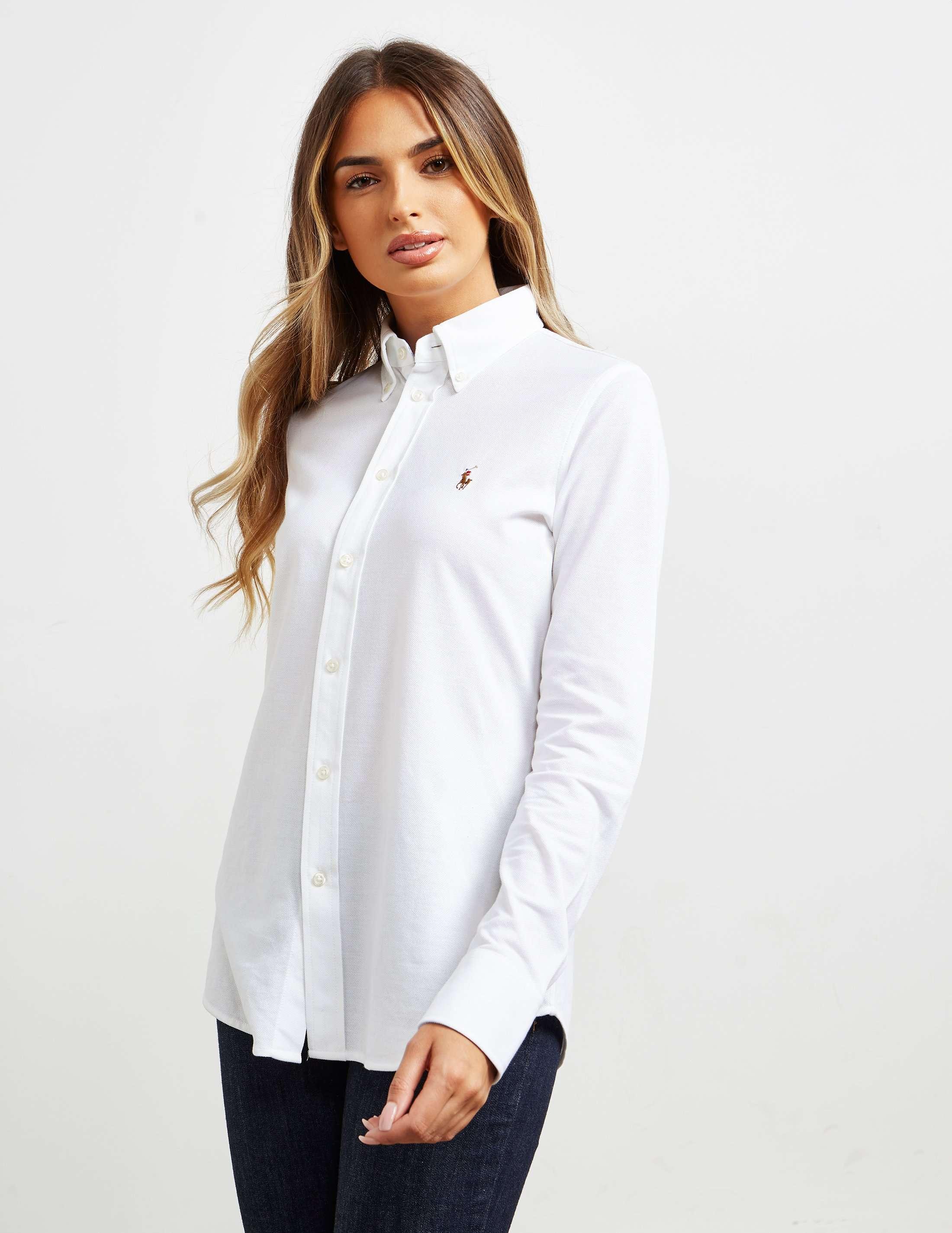 Brilliant Harper Long Sleeve Shirt - Polo Ralph Lauren - Blue - Blouses U0026 Shirts - Clothing - Women ...