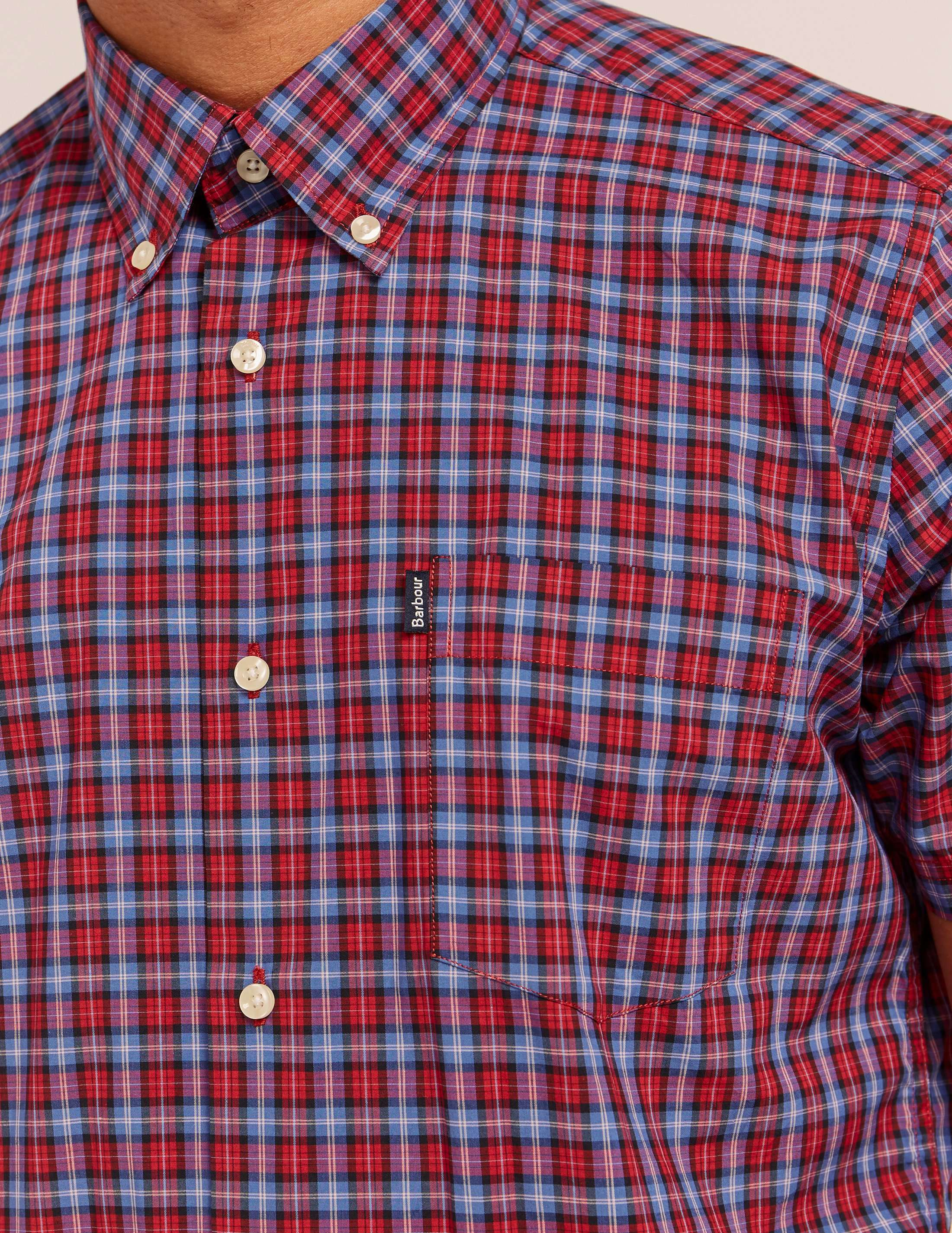 Barbour Barrett Check Short Sleeve Shirt