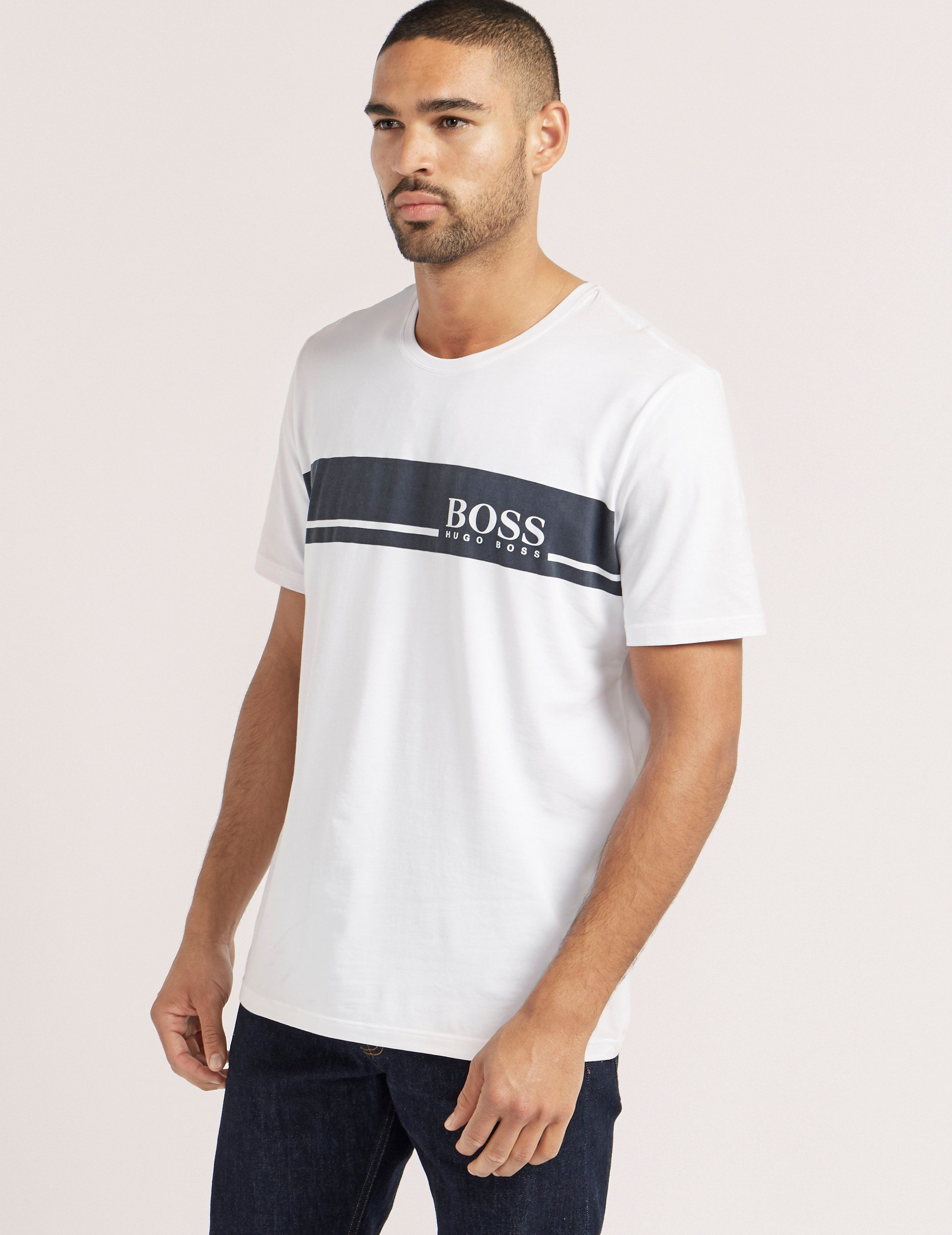BOSS Urban Logo Short Sleeve T-Shirt
