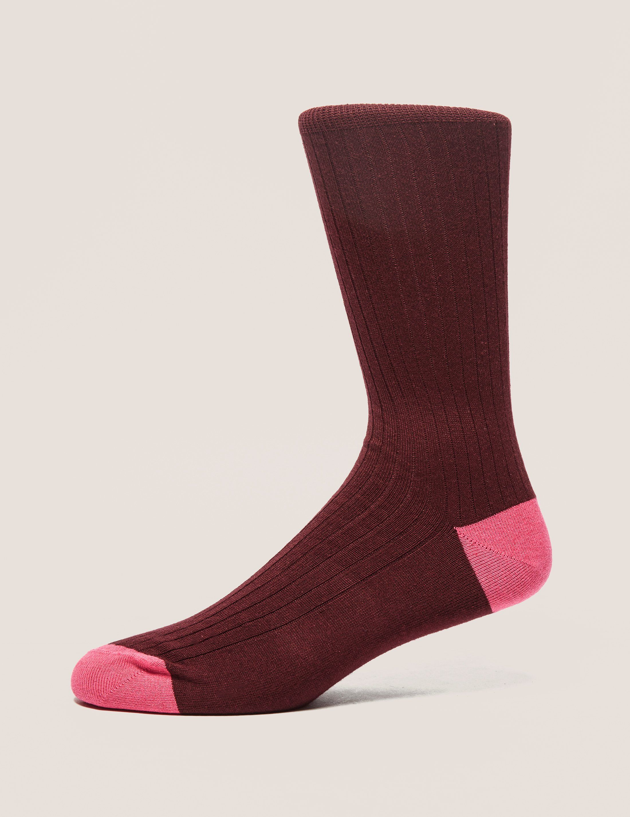 Paul Smith Two-Tone Ribbed Socks