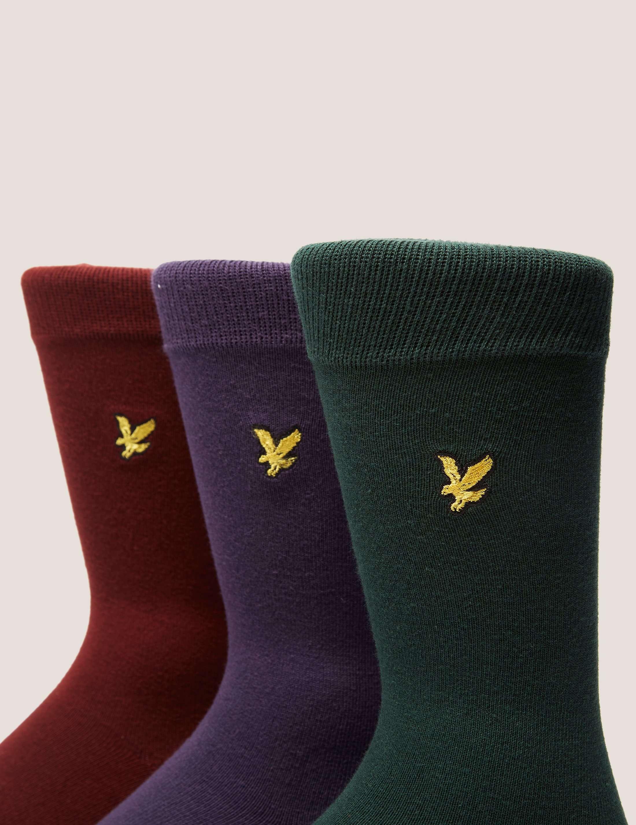Lyle & Scott 3 Pack Socks