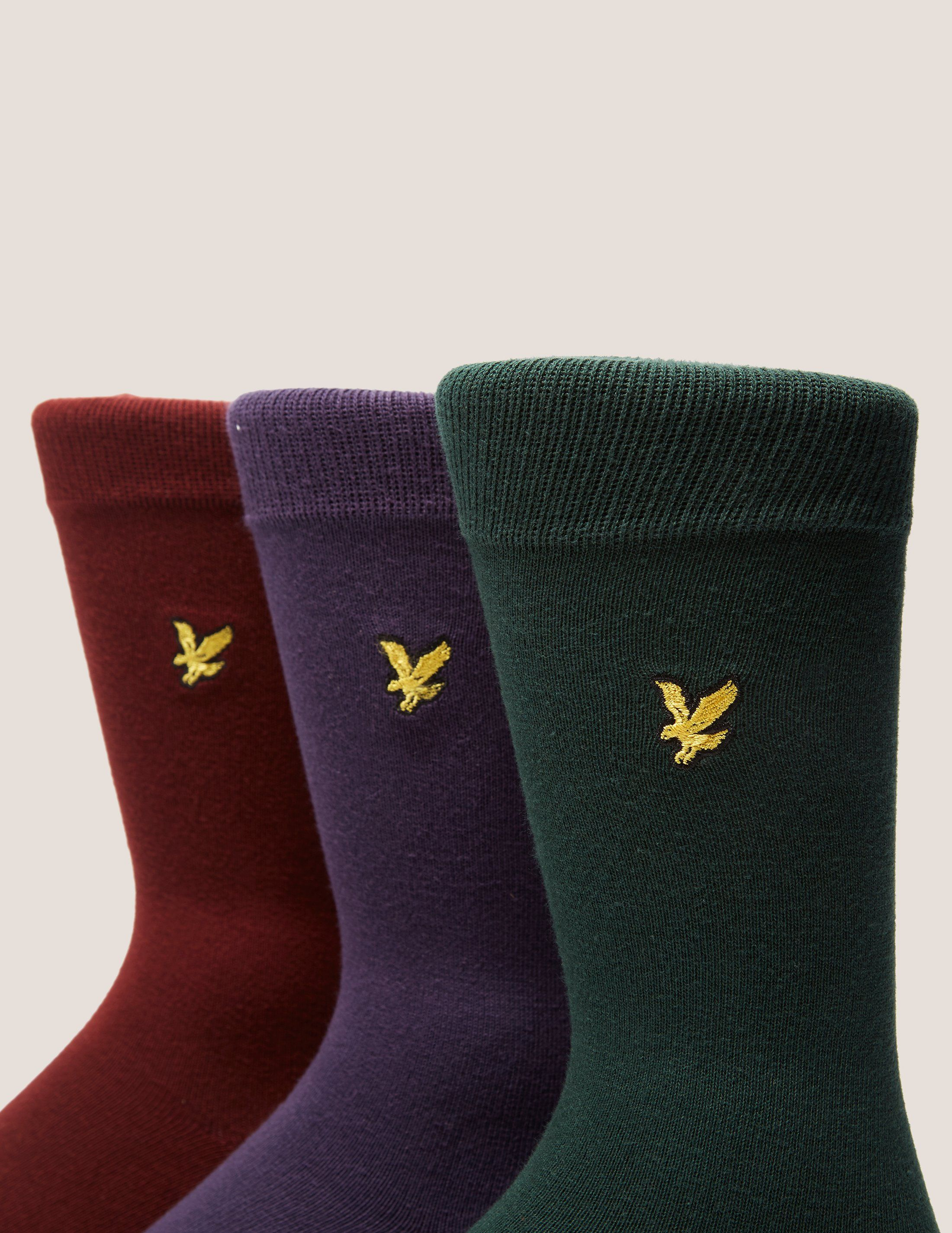 Lyle & Scott 3 Pack Socks