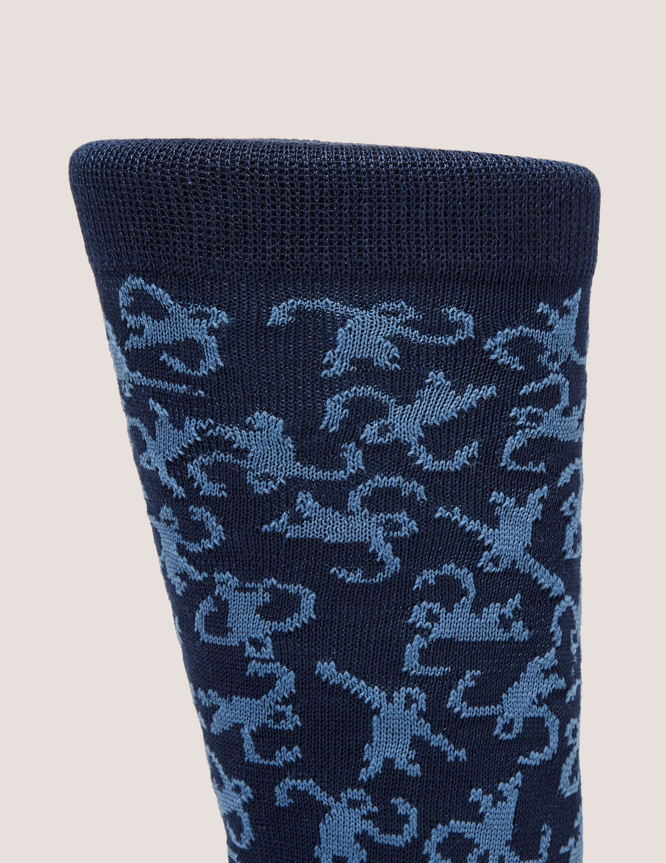 Paul Smith Dancing Monkey Pattern Socks