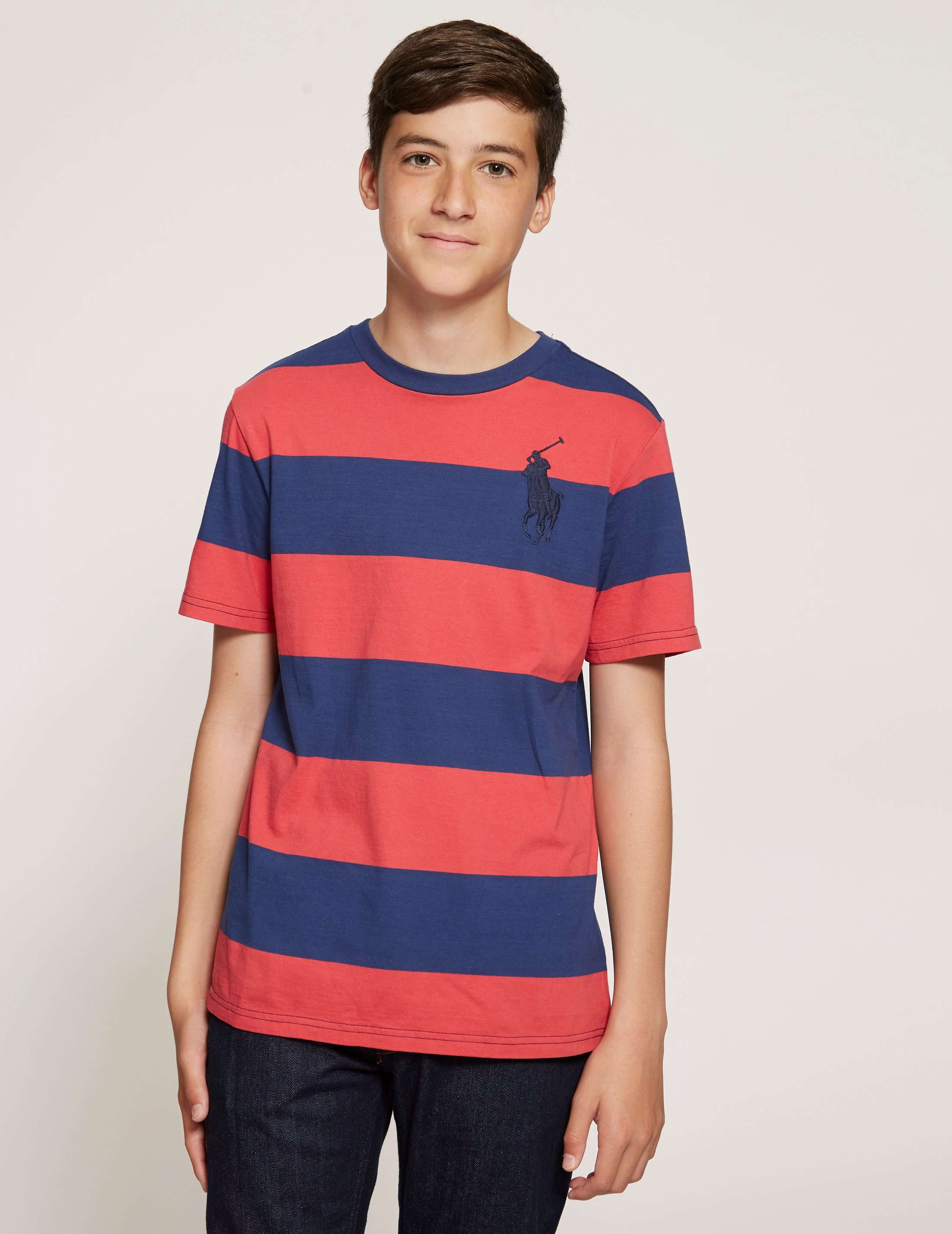 Polo Ralph Lauren Stripe Cotton Jersey T-Shirt