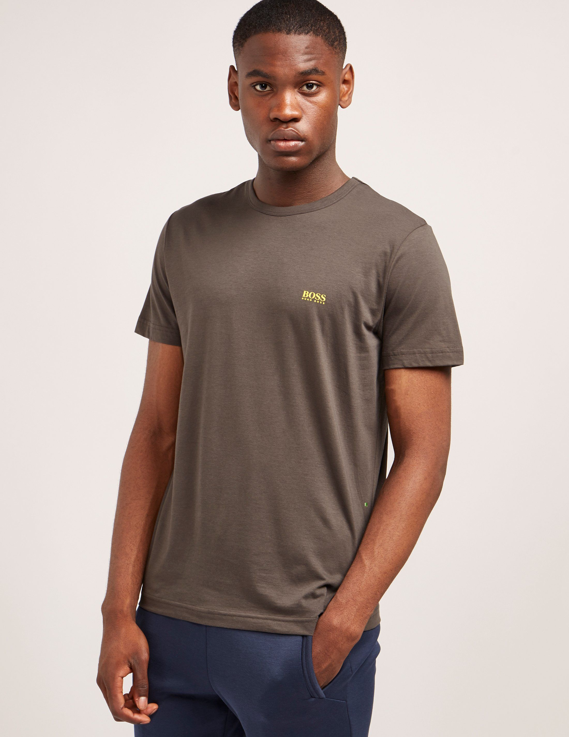 BOSS Green Logo Short Sleeve T-Shirt