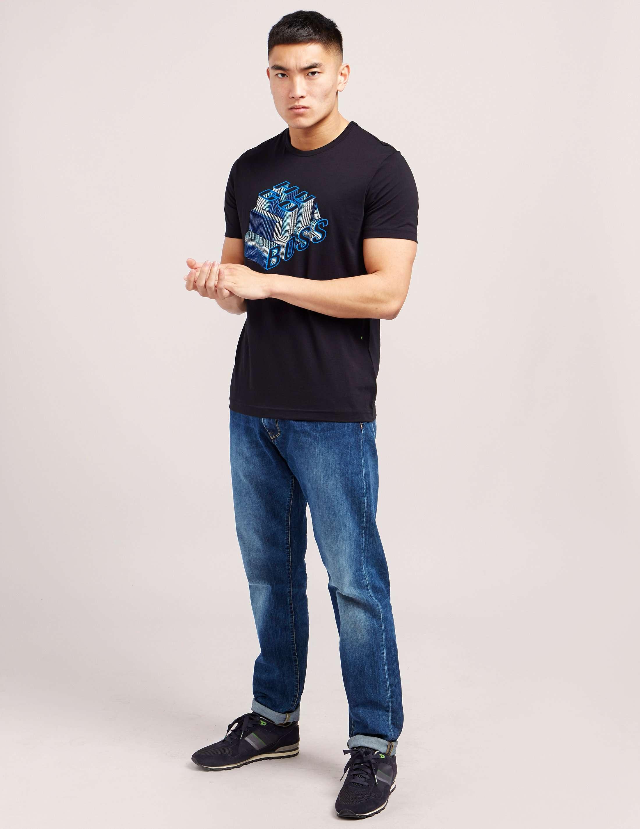 BOSS Green 3-D Short Sleeve T-Shirt