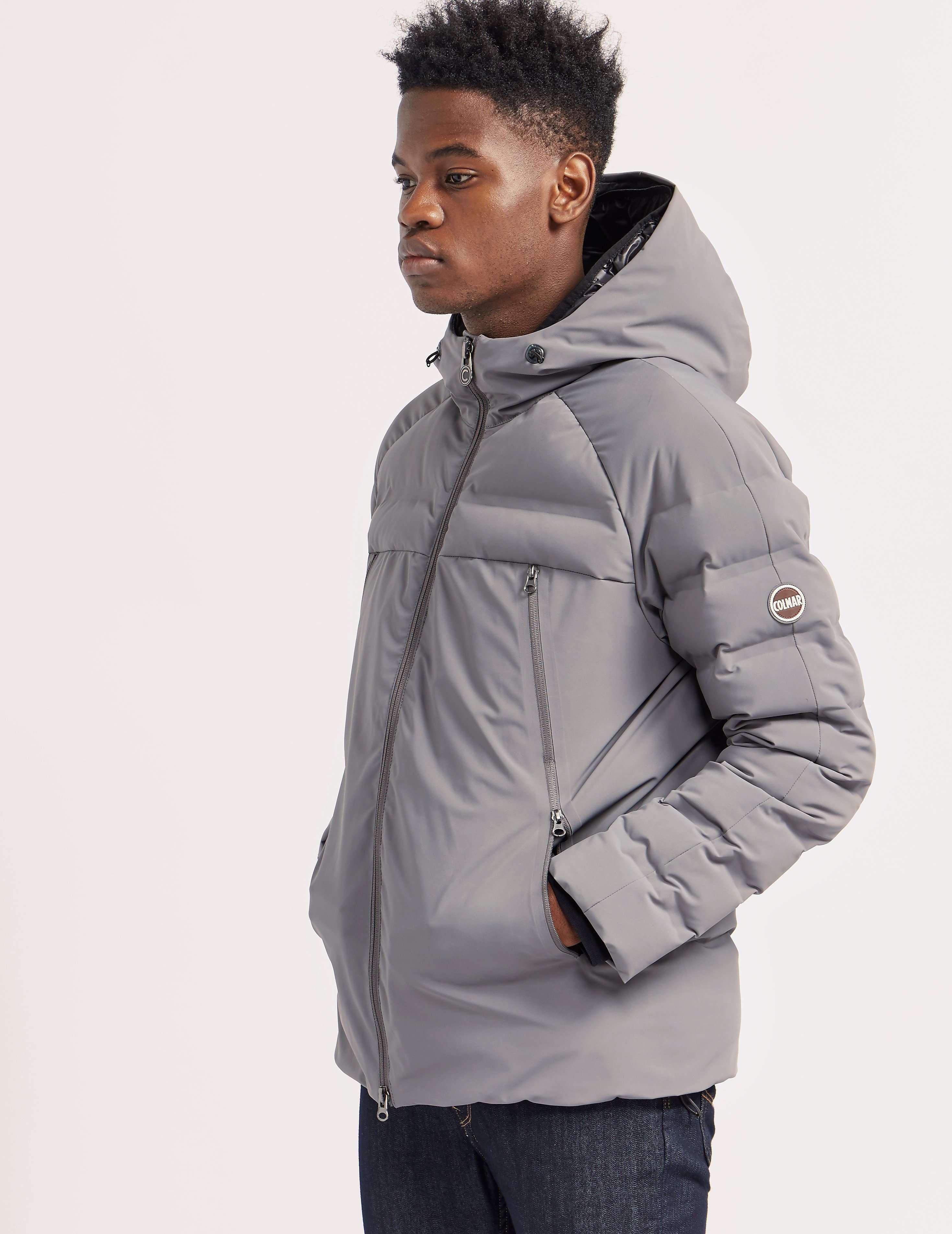 colmar zipped hooded jacket tessuti. Black Bedroom Furniture Sets. Home Design Ideas