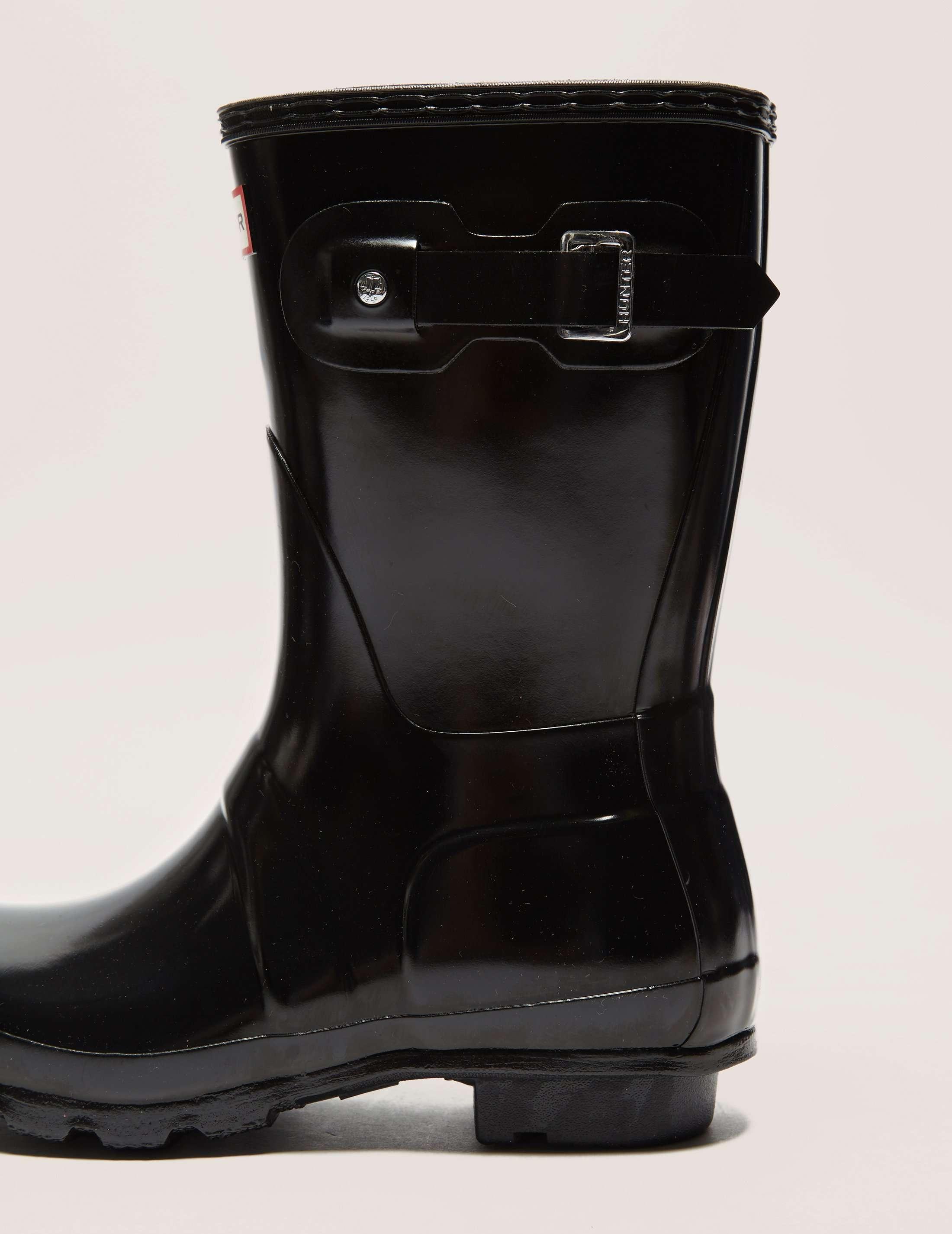 Hunter Short Glossy Boots