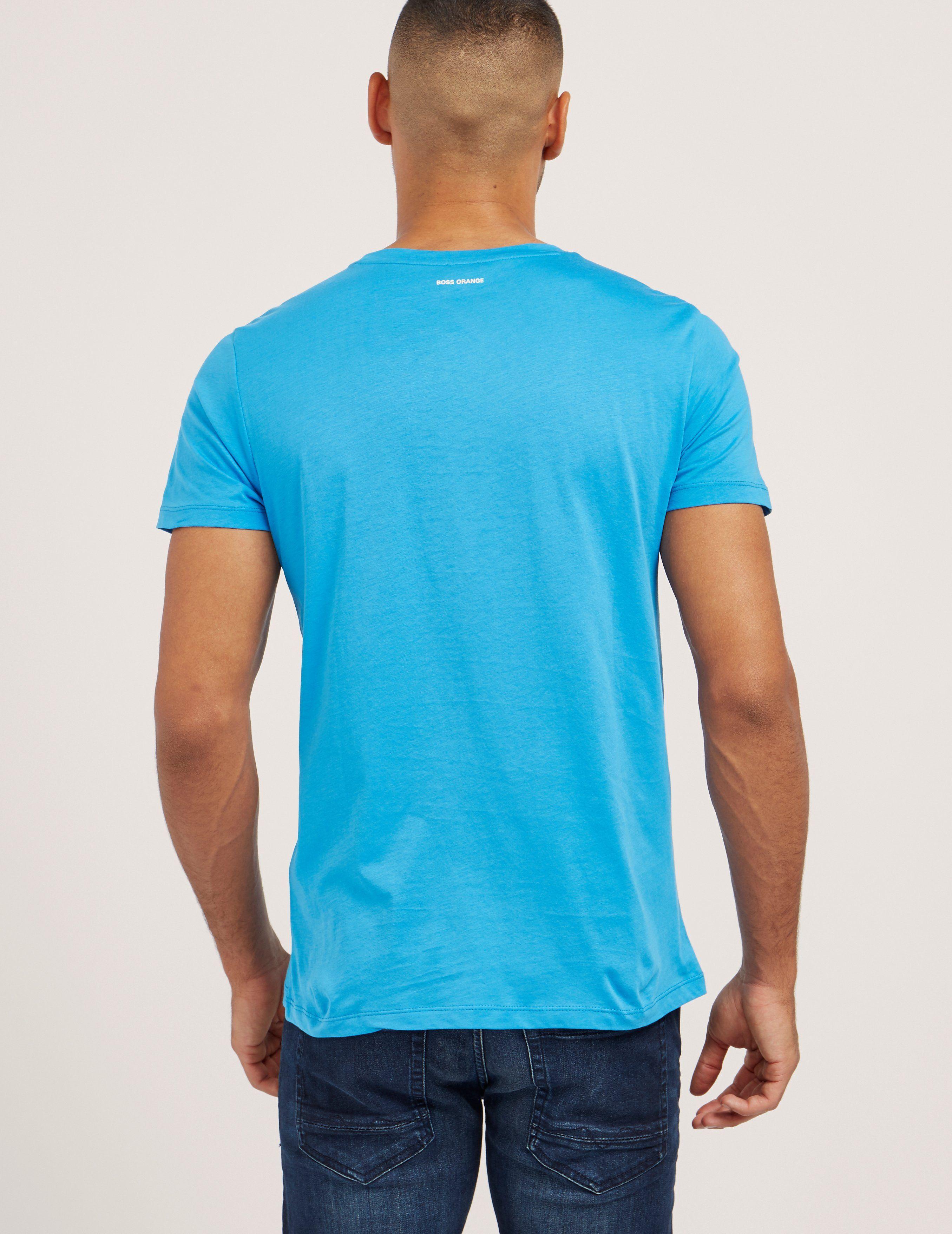 BOSS Orange Turbulence Short Sleeve T-Shirt