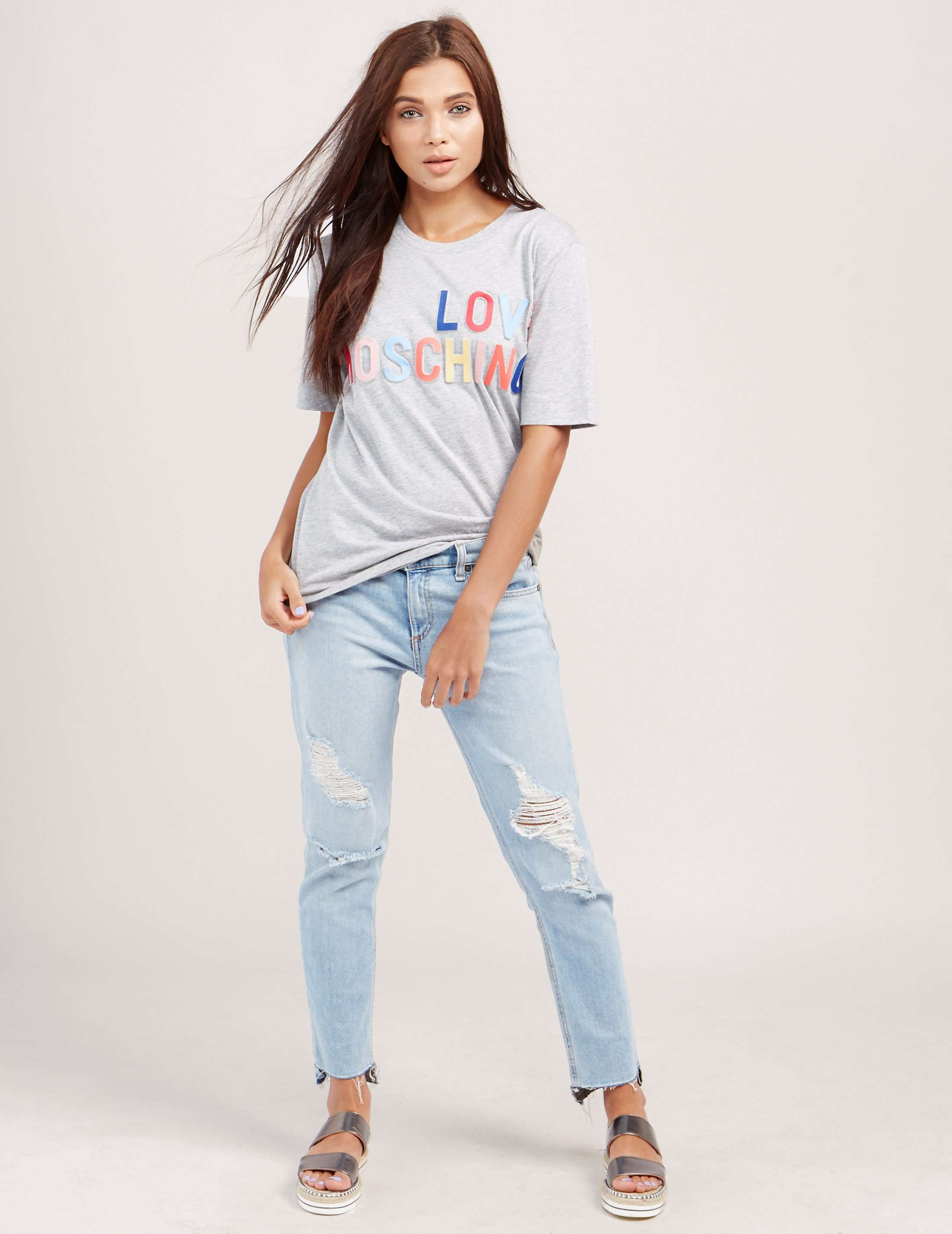 Love Moschino Branded Short Sleeve T-Shirt