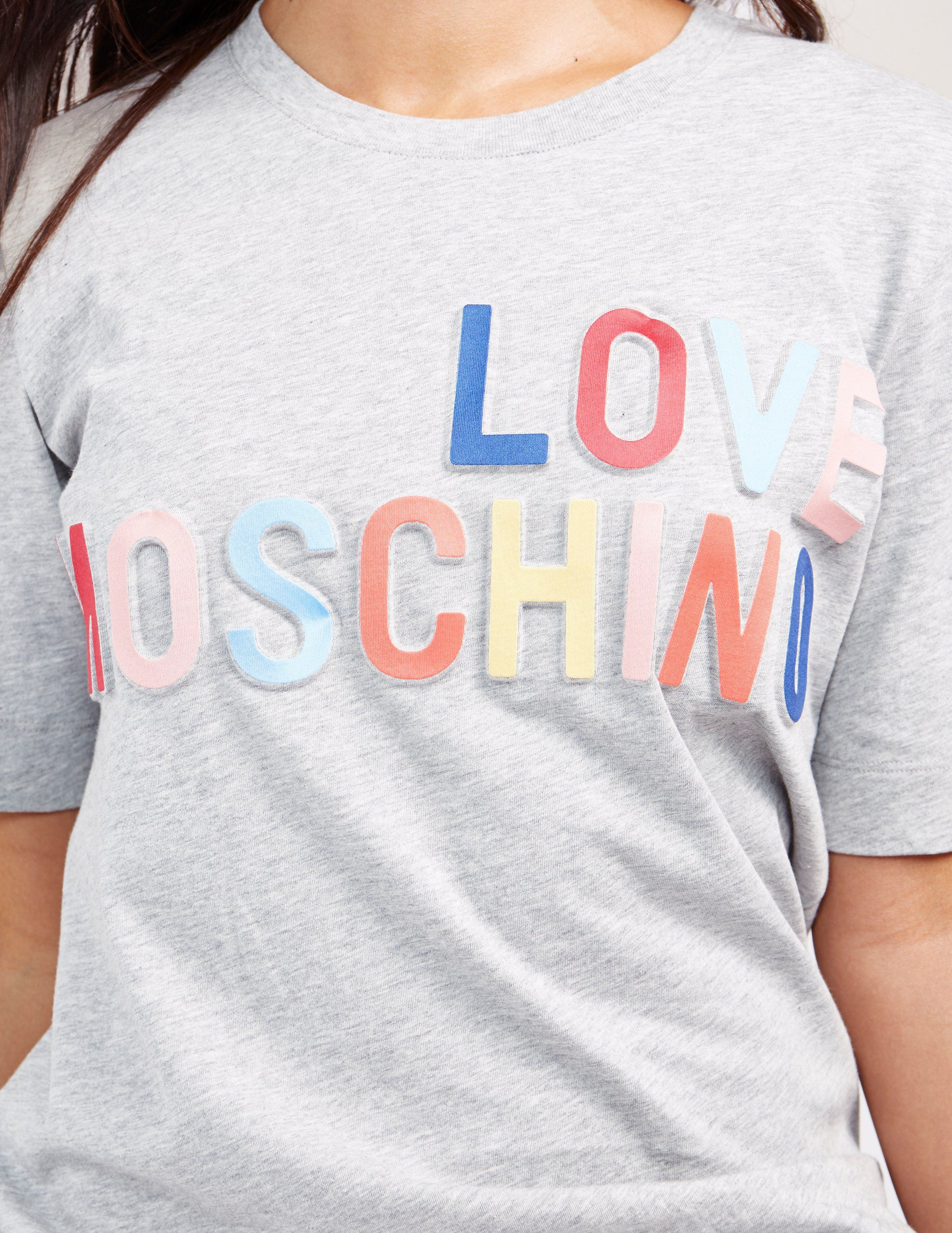 Love Moschino Branded Short Sleeve T-Shirt