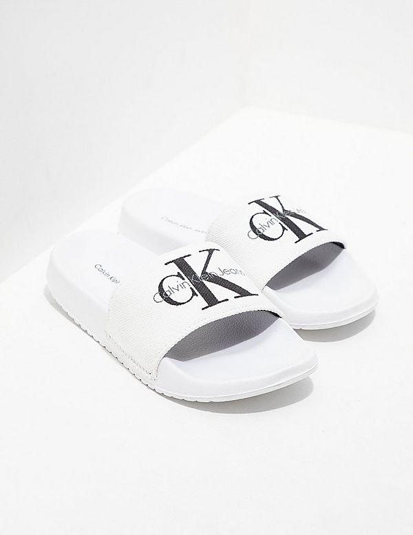 90f77fae24130f Calvin Klein Jeans Chantal Slides Women s