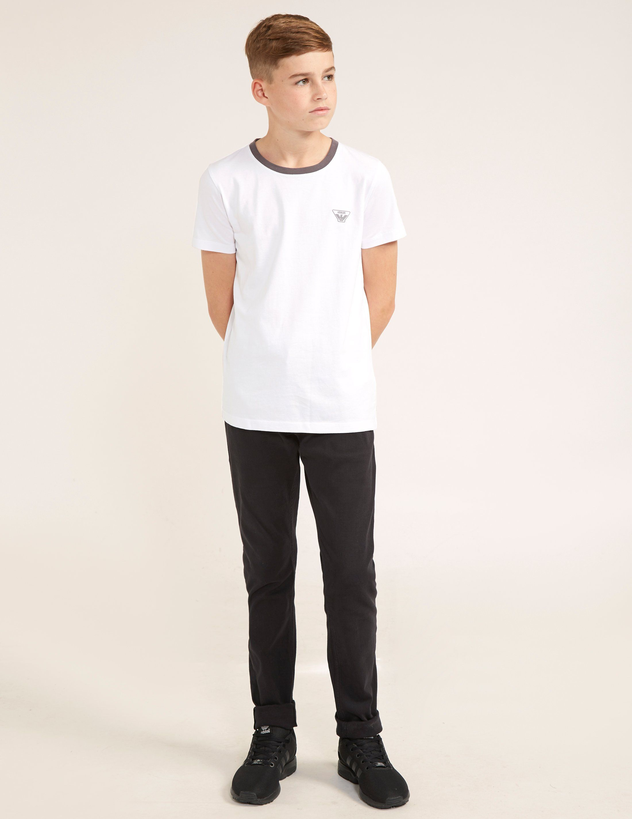 Armani Jeans Small Logo Short Sleeve T-Shirt