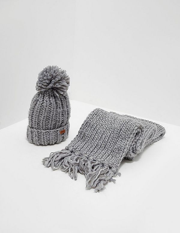 1d9c5b3126c Barbour Chunky Hat and Scarf Set