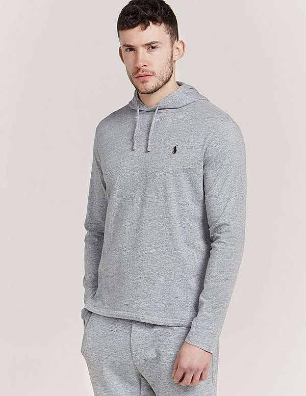 Polo Ralph Lauren Long Sleeve Hooded T-Shirt   Tessuti