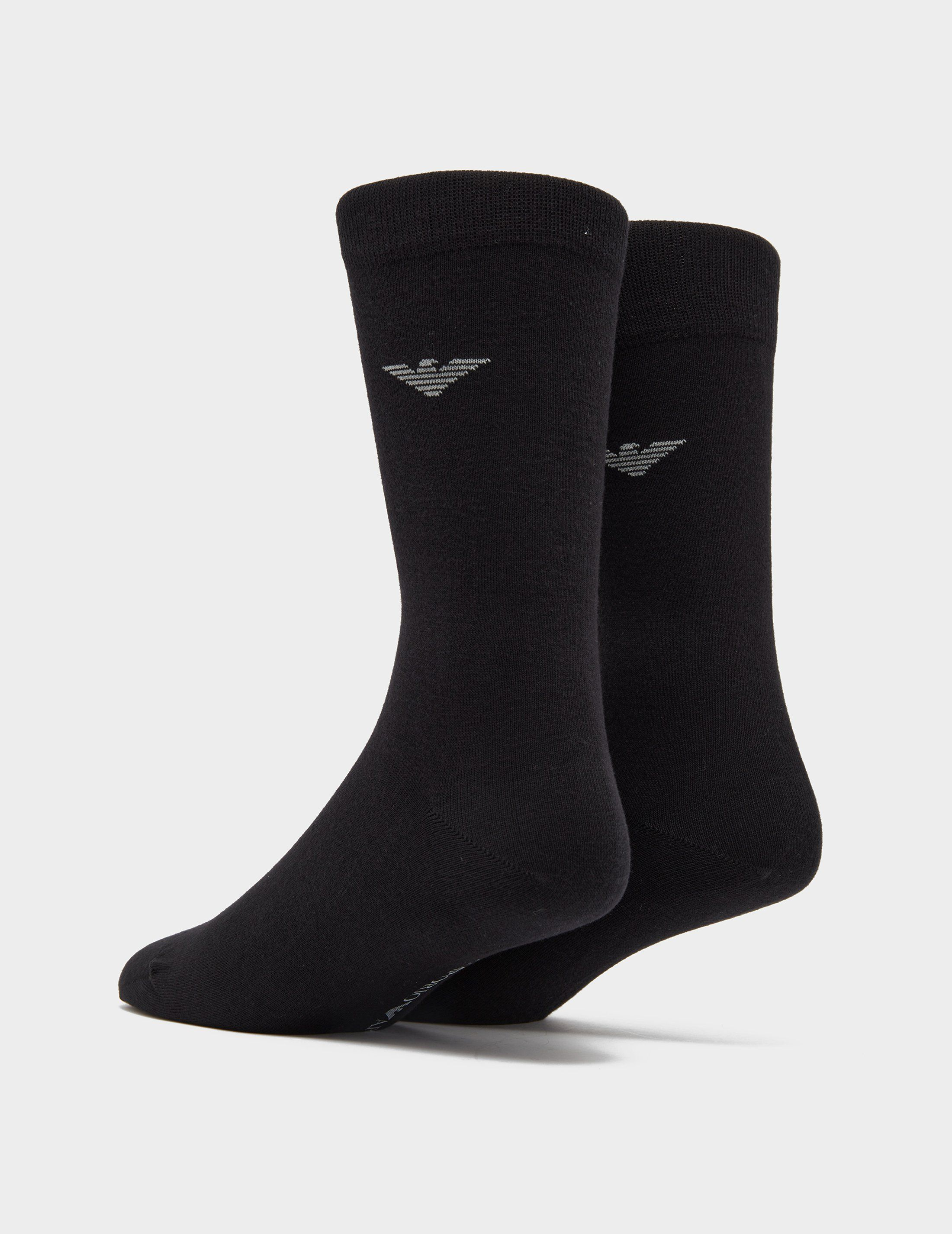 Emporio Armani 2-Pack Eagle Socks