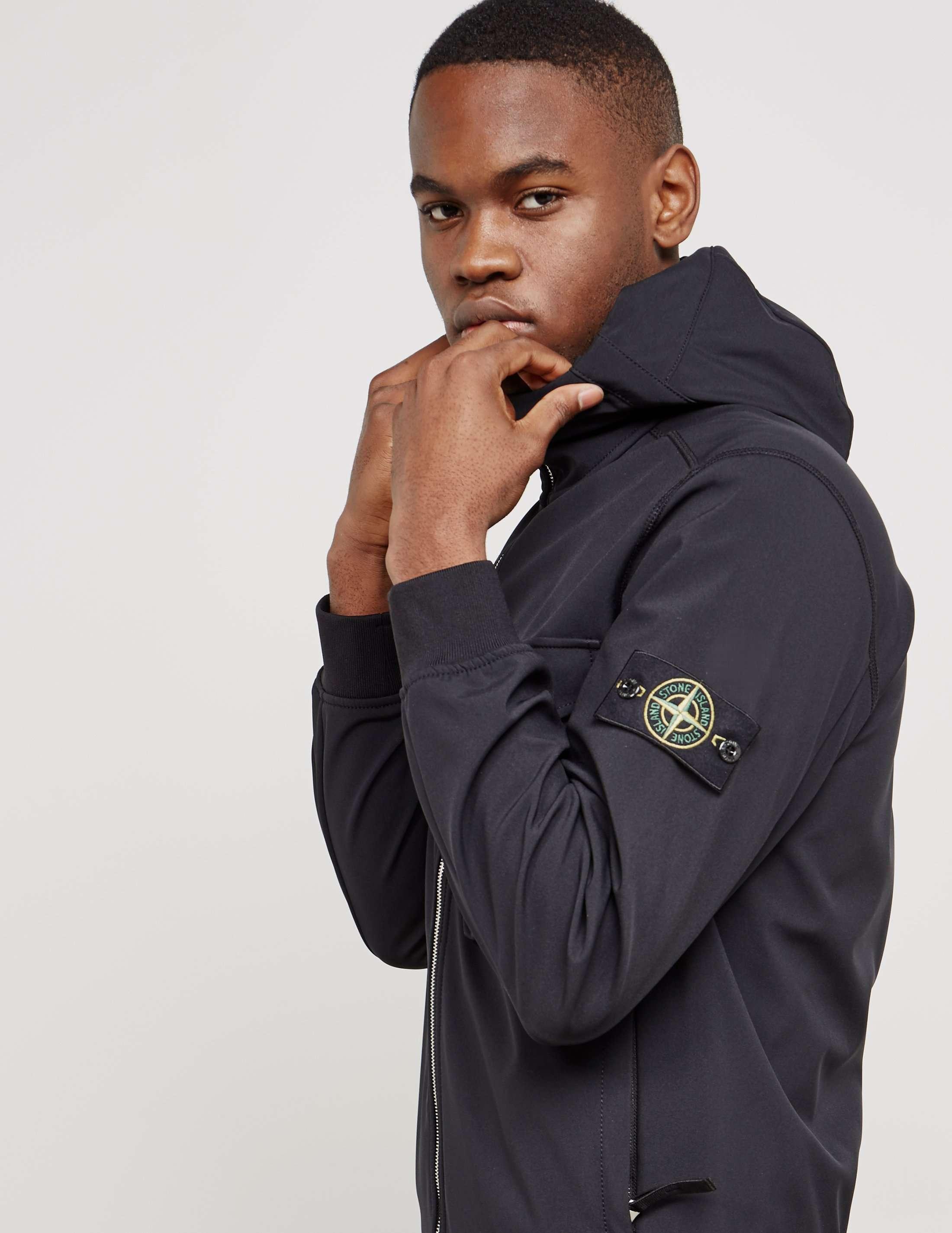 Stone Island Shell Hooded Jacket