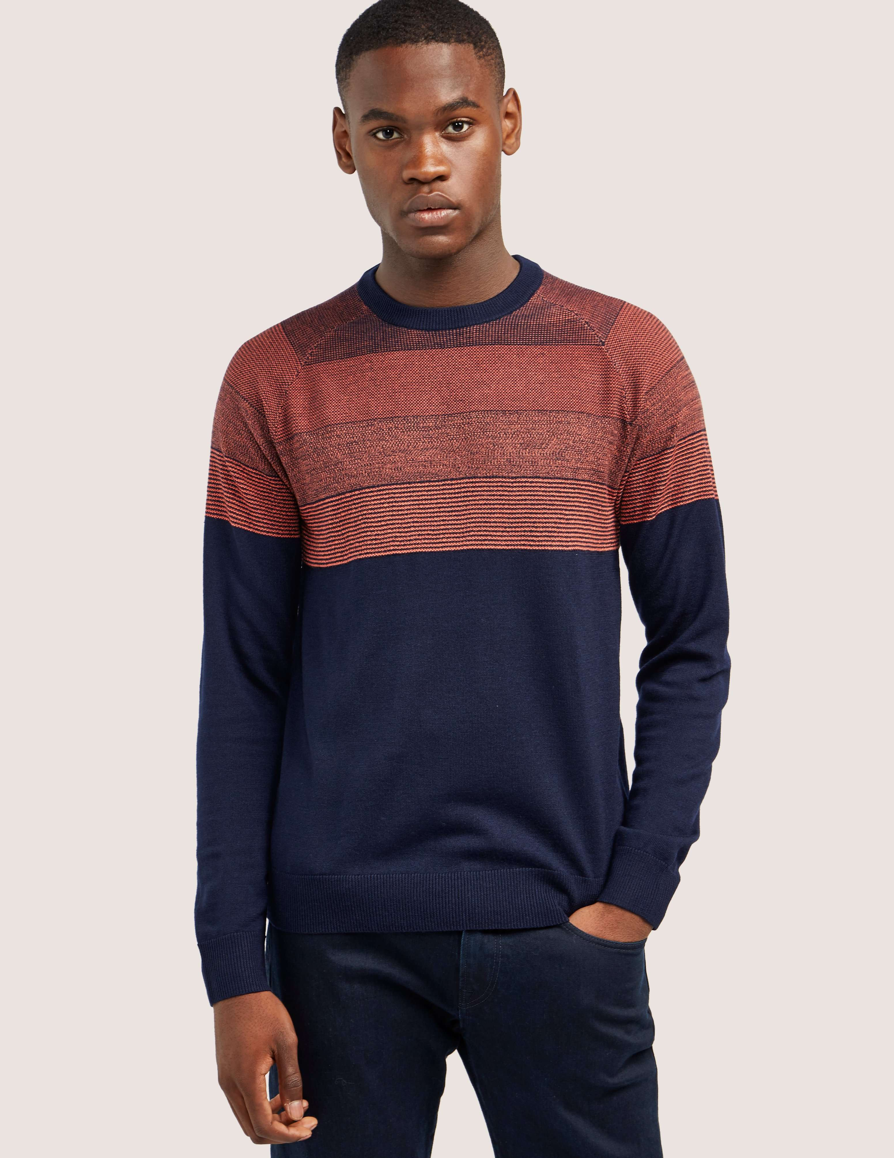 Paul Smith Contrast Long Sleeve Knit