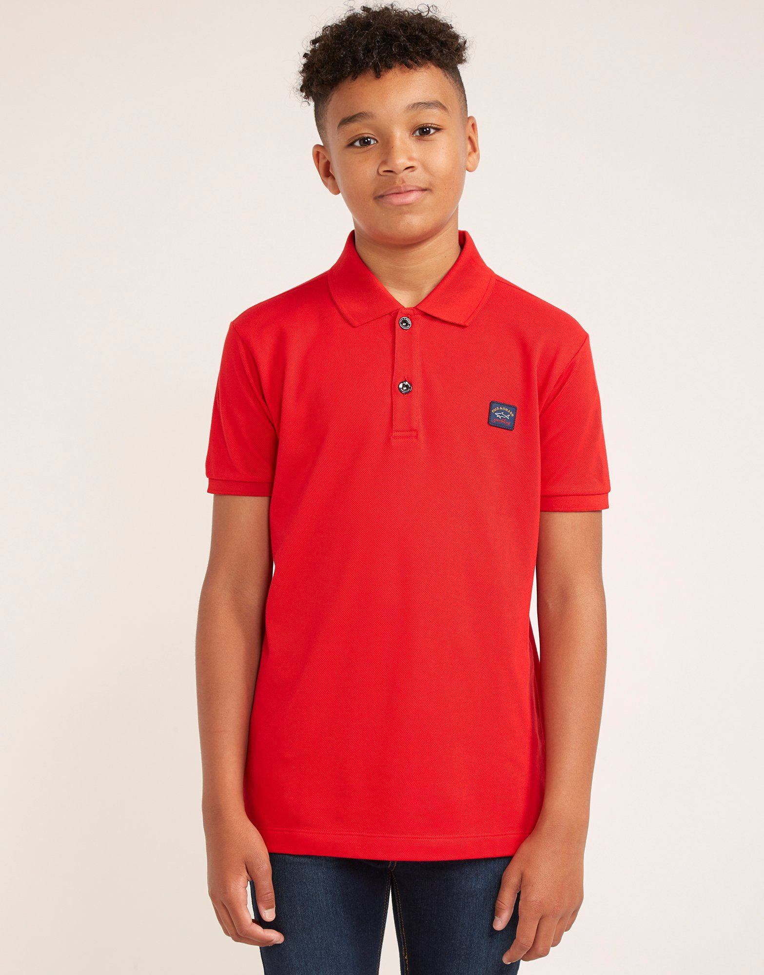 Paul and Shark Patch Short Sleeve Polo Shirt
