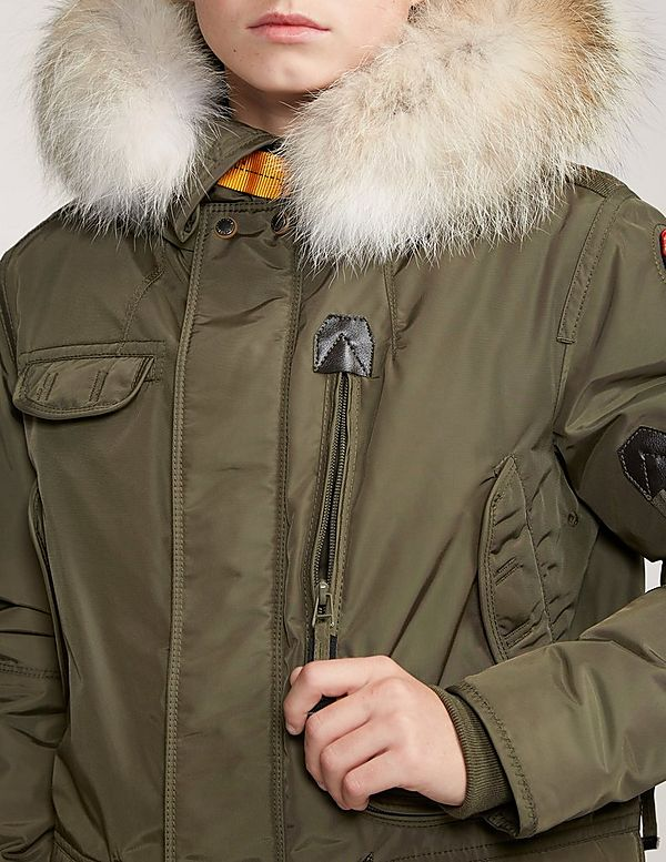 parajumpers right hand green