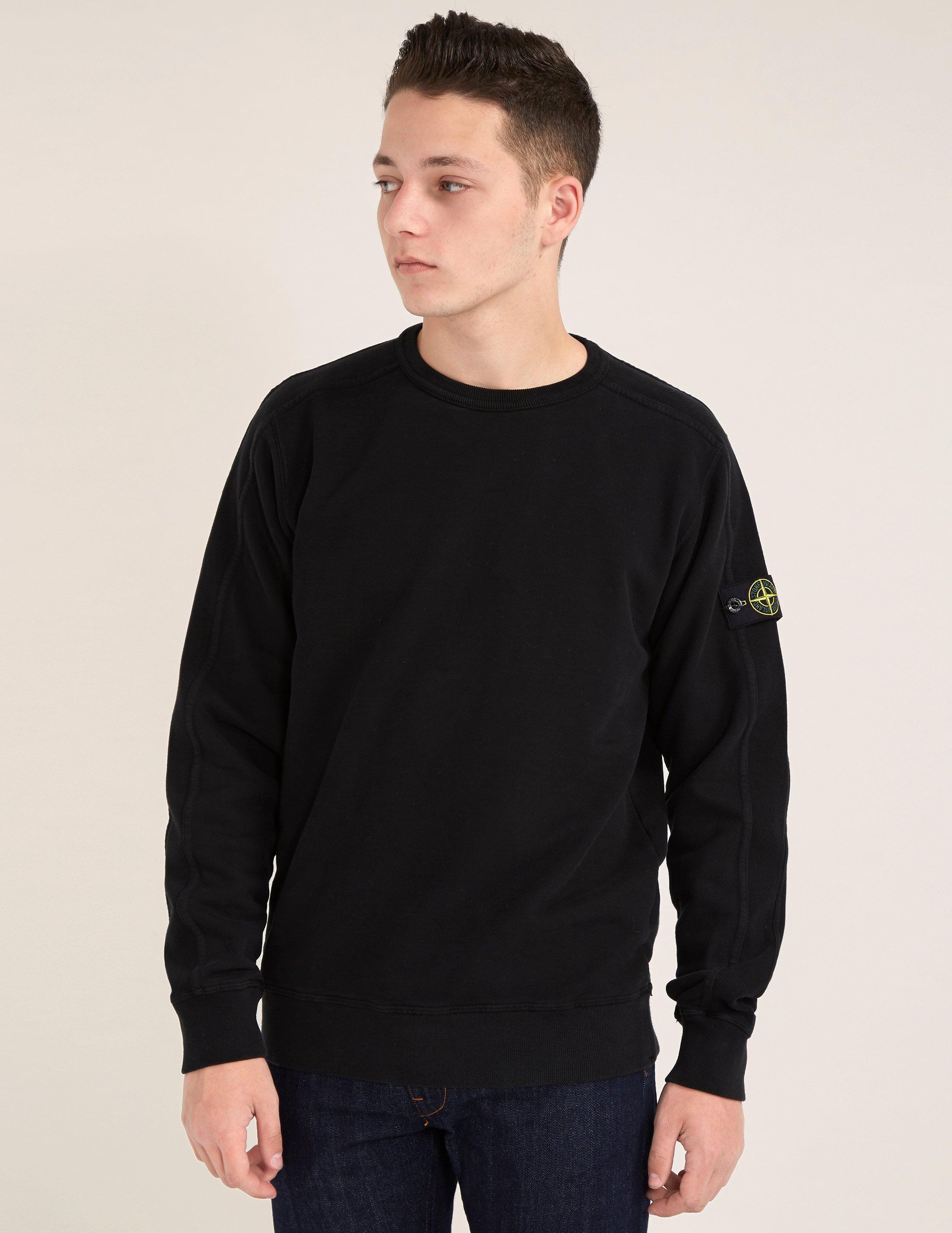 Black stone island shirt