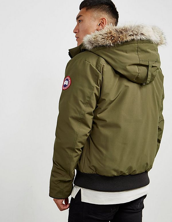 canada goose borden padded bomber jacket