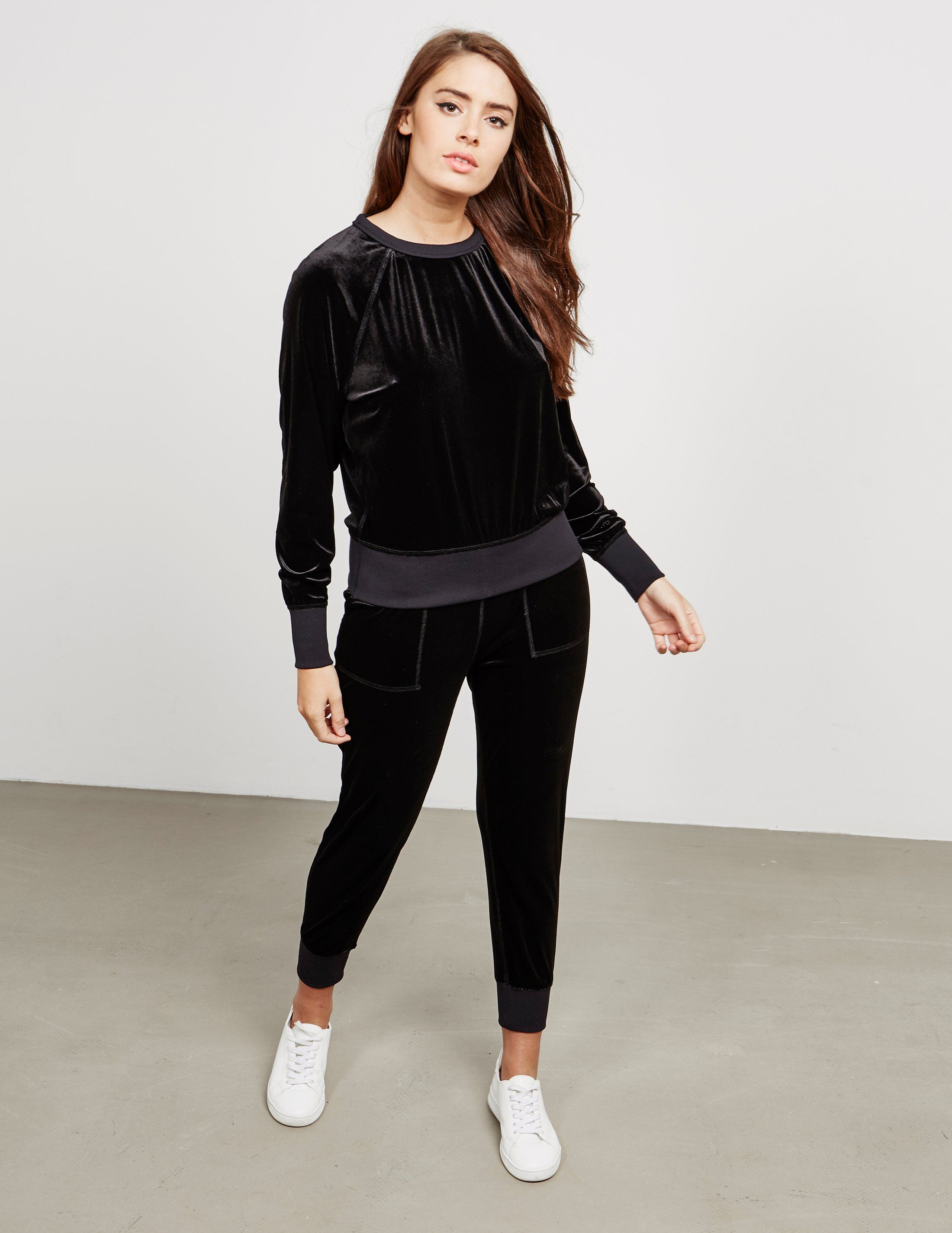 Rag & Bone Velvet Sweatshirt